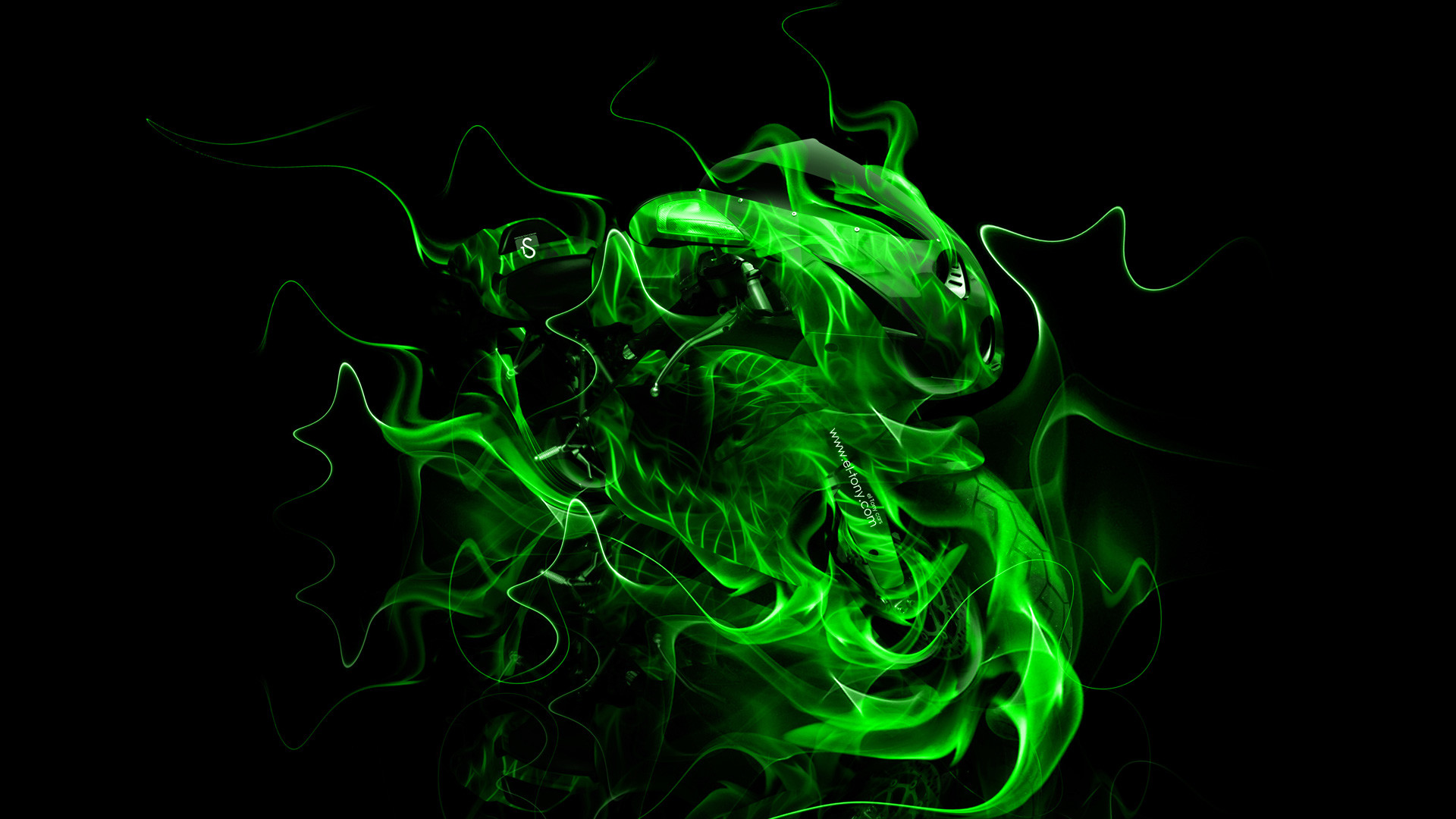 1920x1080 Neon Green HD Wallpaper › W.Impex