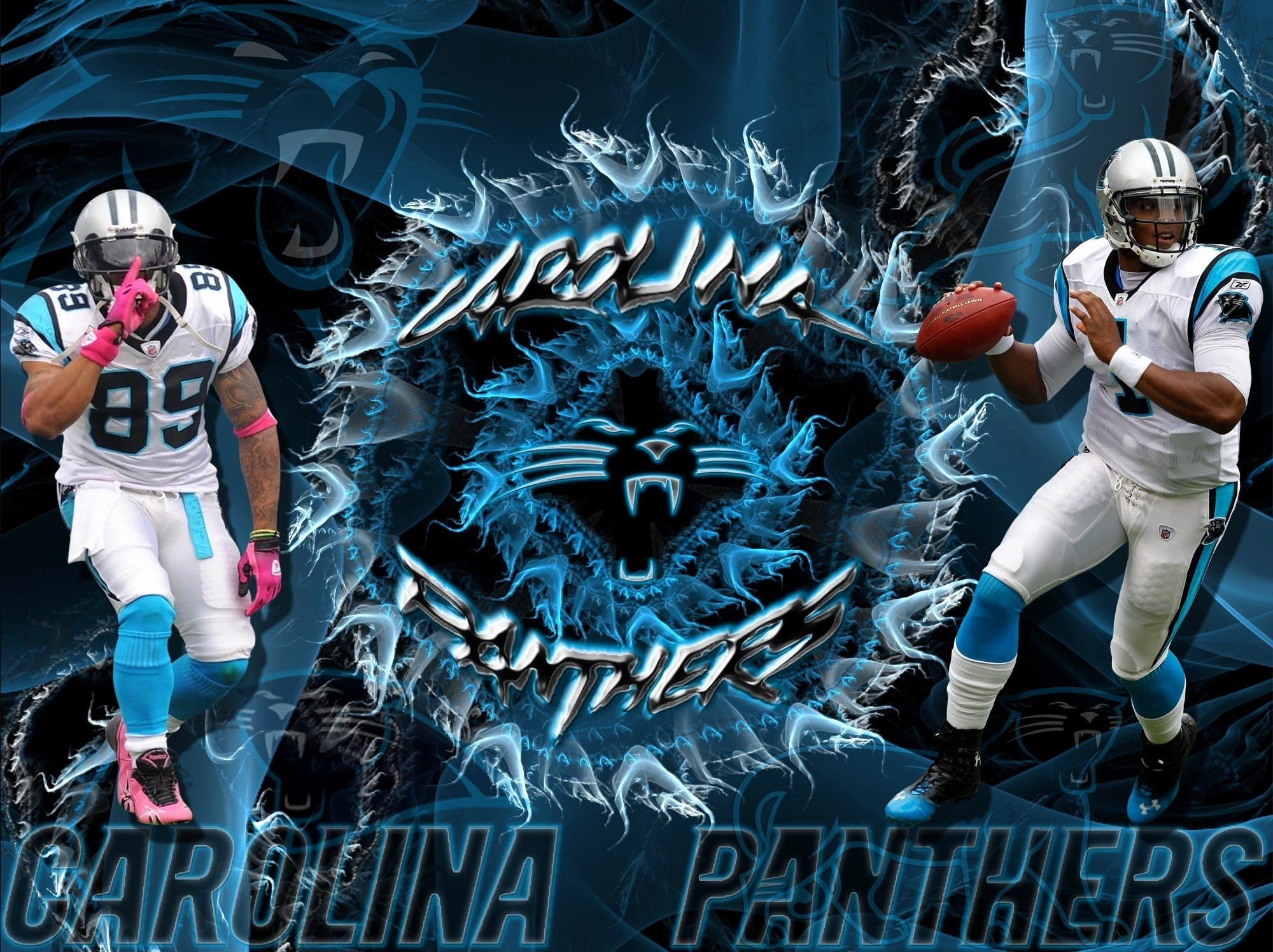 1242x2208 Carolina Panthers KeepPounding Smartphone IPhone 6 Plus Size Wallpaper 1242 X 2208