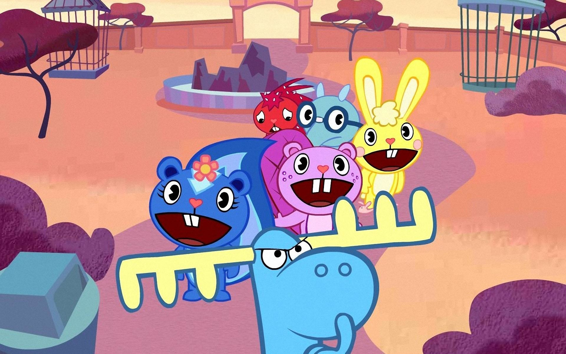 1920x1200 Happy Tree Friends Wallpaper 13 - 1920 X 1200