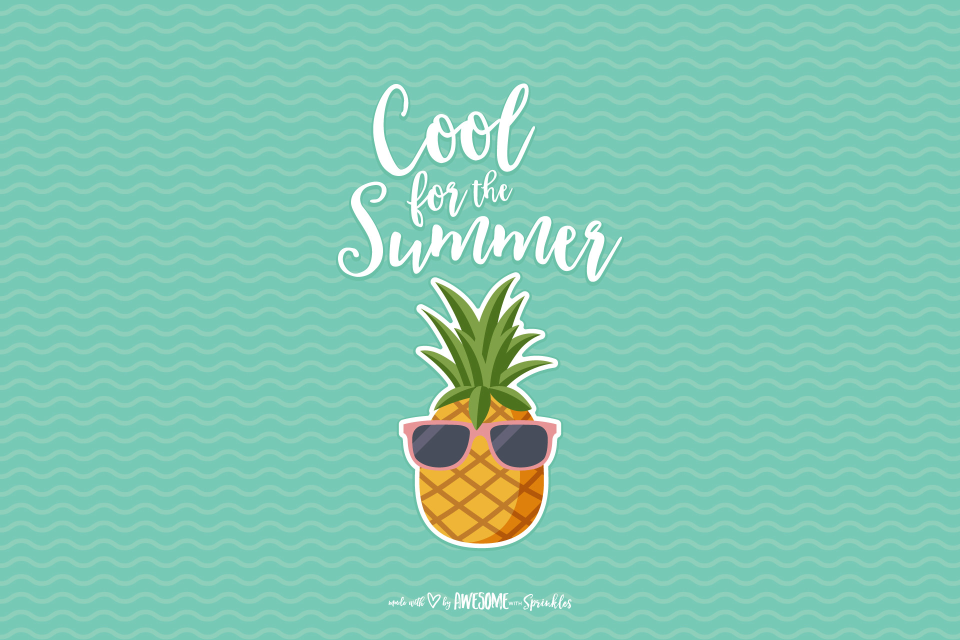 Summer Background Download Free Awesome Wallpapers For: Pineapple Wallpapers (62+ Images