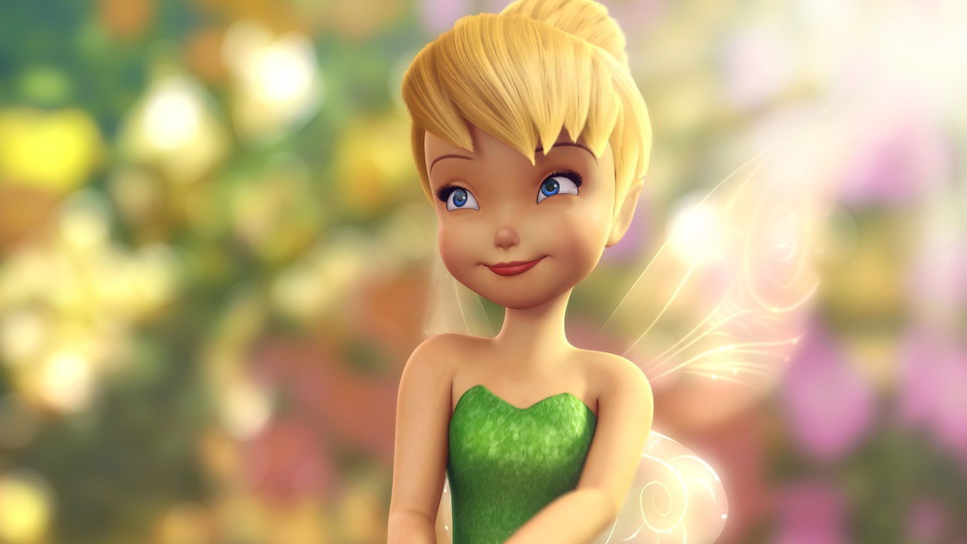 3840x2160  Wallpaper tinkerbell, fairy, wings