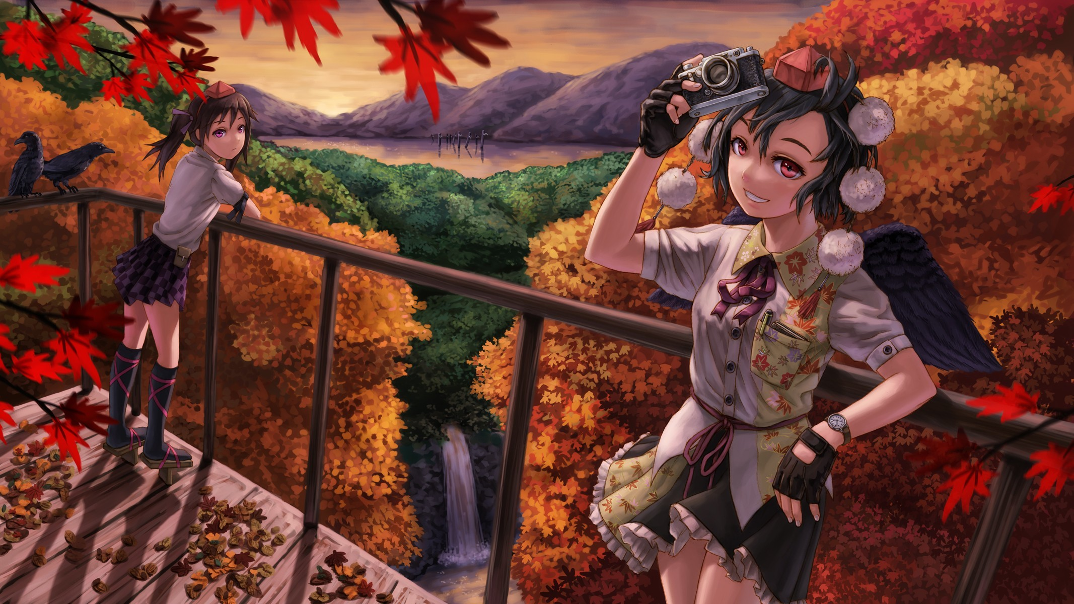 Anime Fall Wallpapers (59+ images)