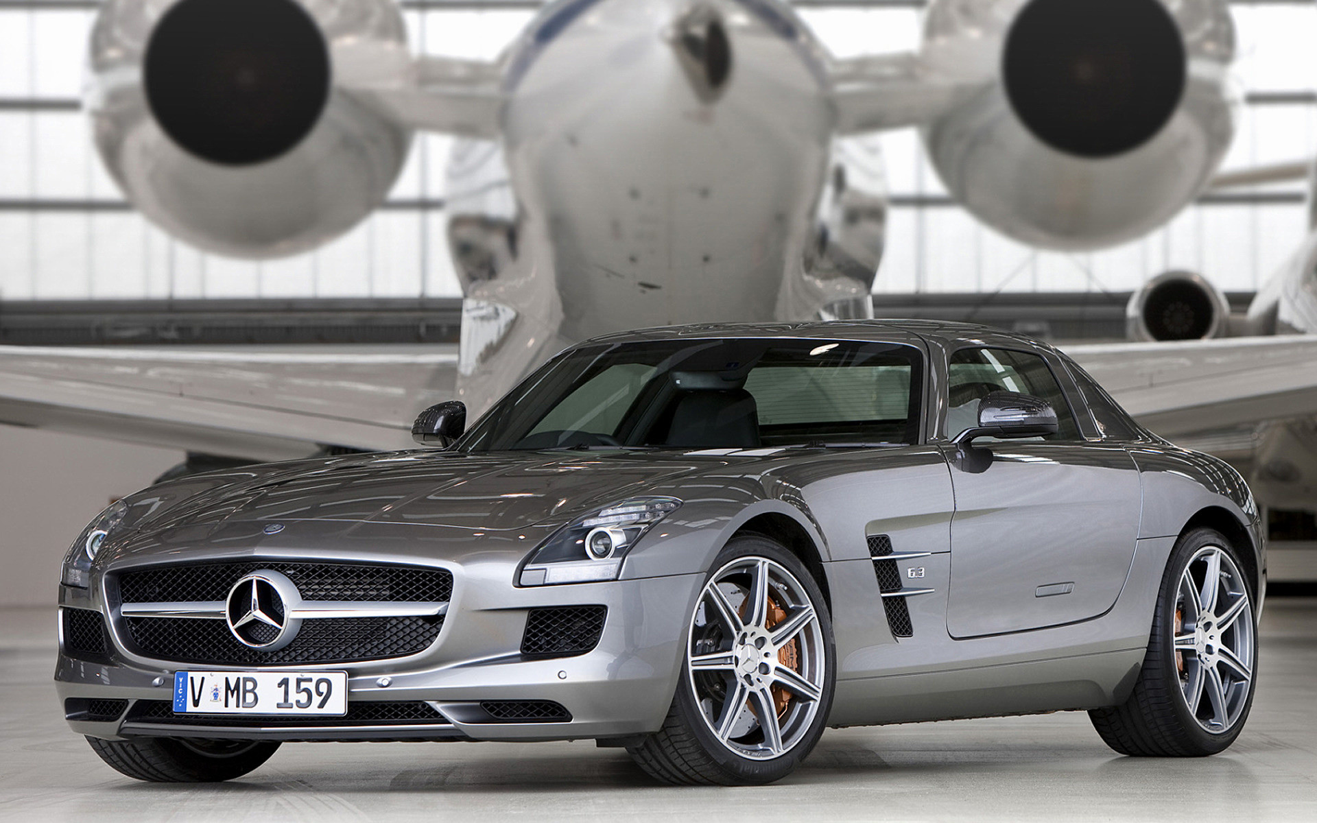 1920x1200 Wide 8:5 · Mercedes-Benz SLS AMG ...