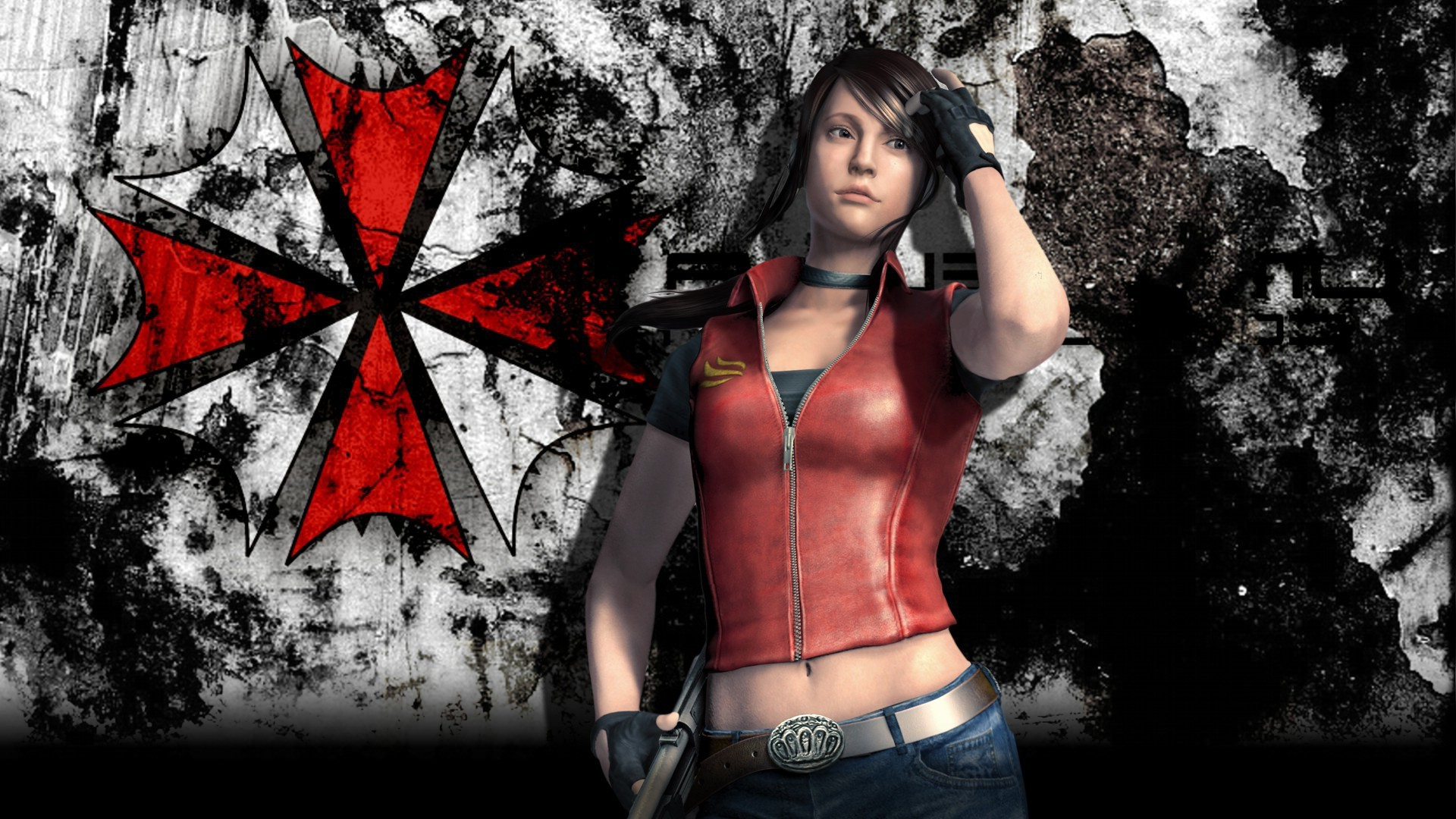1920x1080 Resident Evil, Video Games, Claire Redfield
