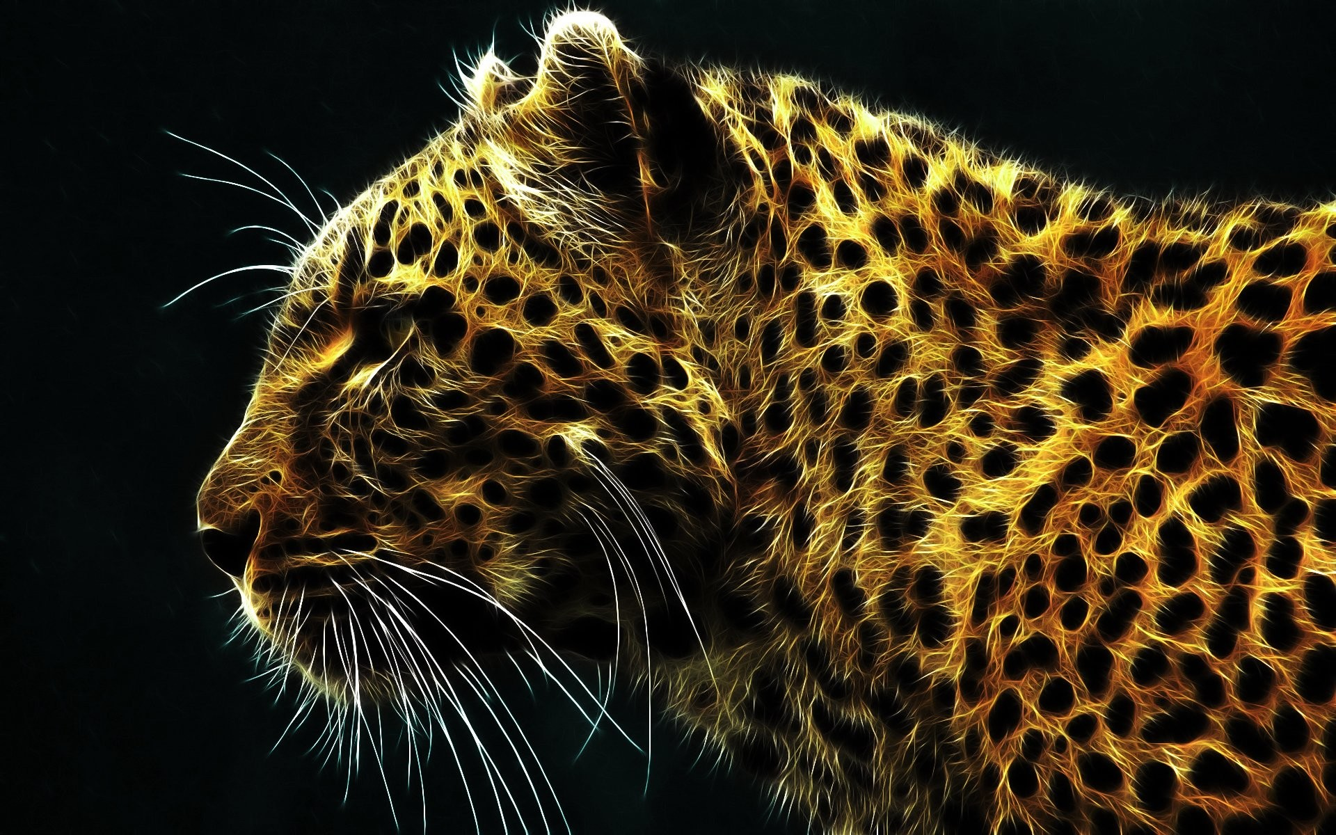 1920x1200 Tiere - Leopard predator (Animal) Tiere Big Cat Wallpaper