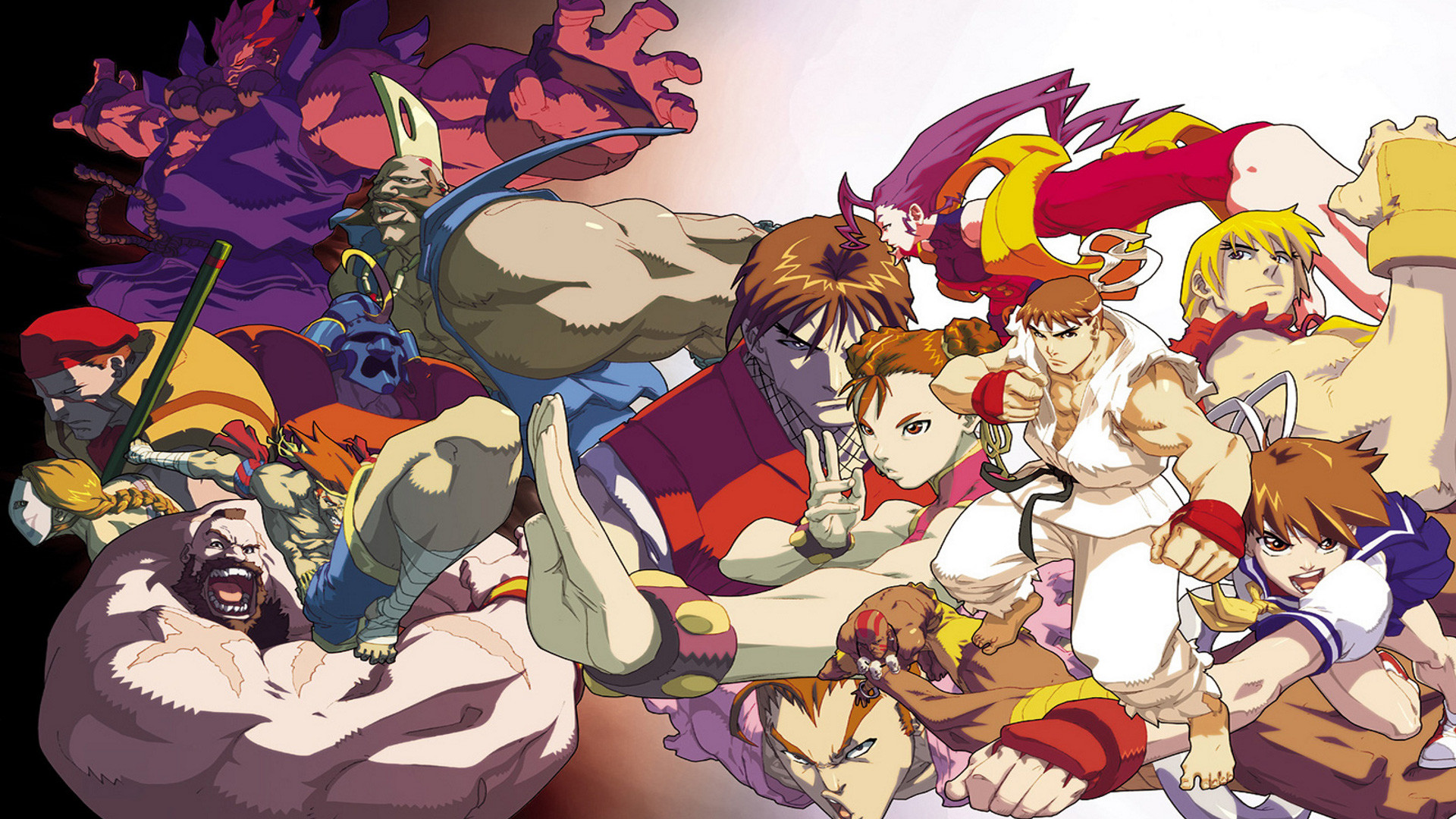 Street Fighter Background (75+ images)