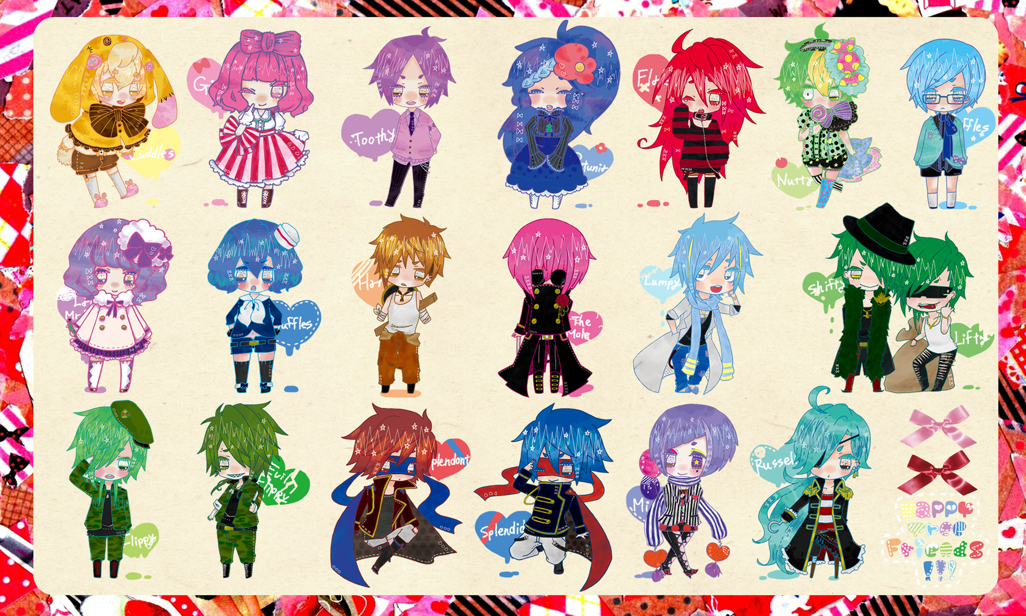 2080x1248 View Fullsize Happy Tree Friends Image