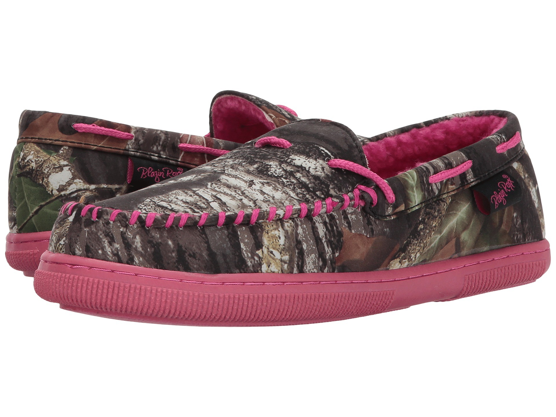 1920x1440 Cheap women shoes M&F Western Mossy Oak Moccasin Slippers Hot Pink Mossy Oak  Camo Fashion Authentic
