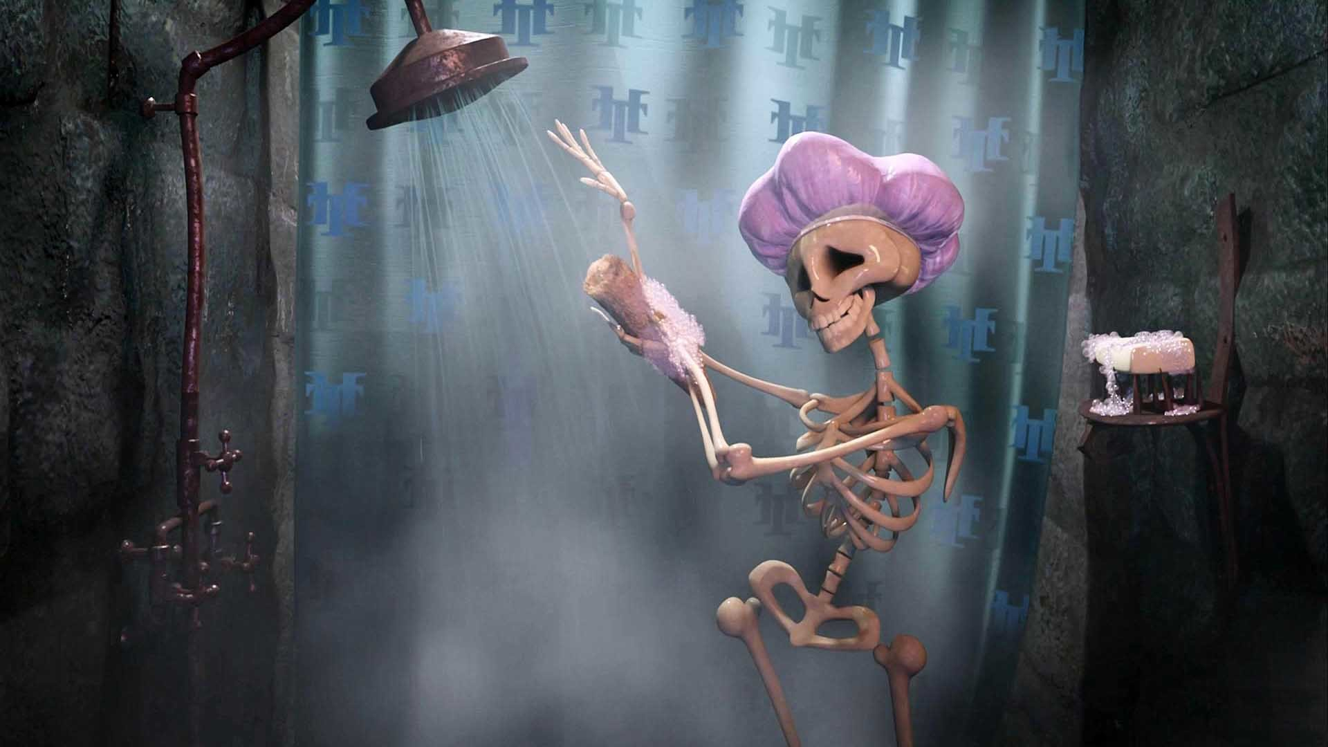 Wonderful 1920x1080 Funny Skeletion Creepy Halloween Wallpaper Full Hd   The