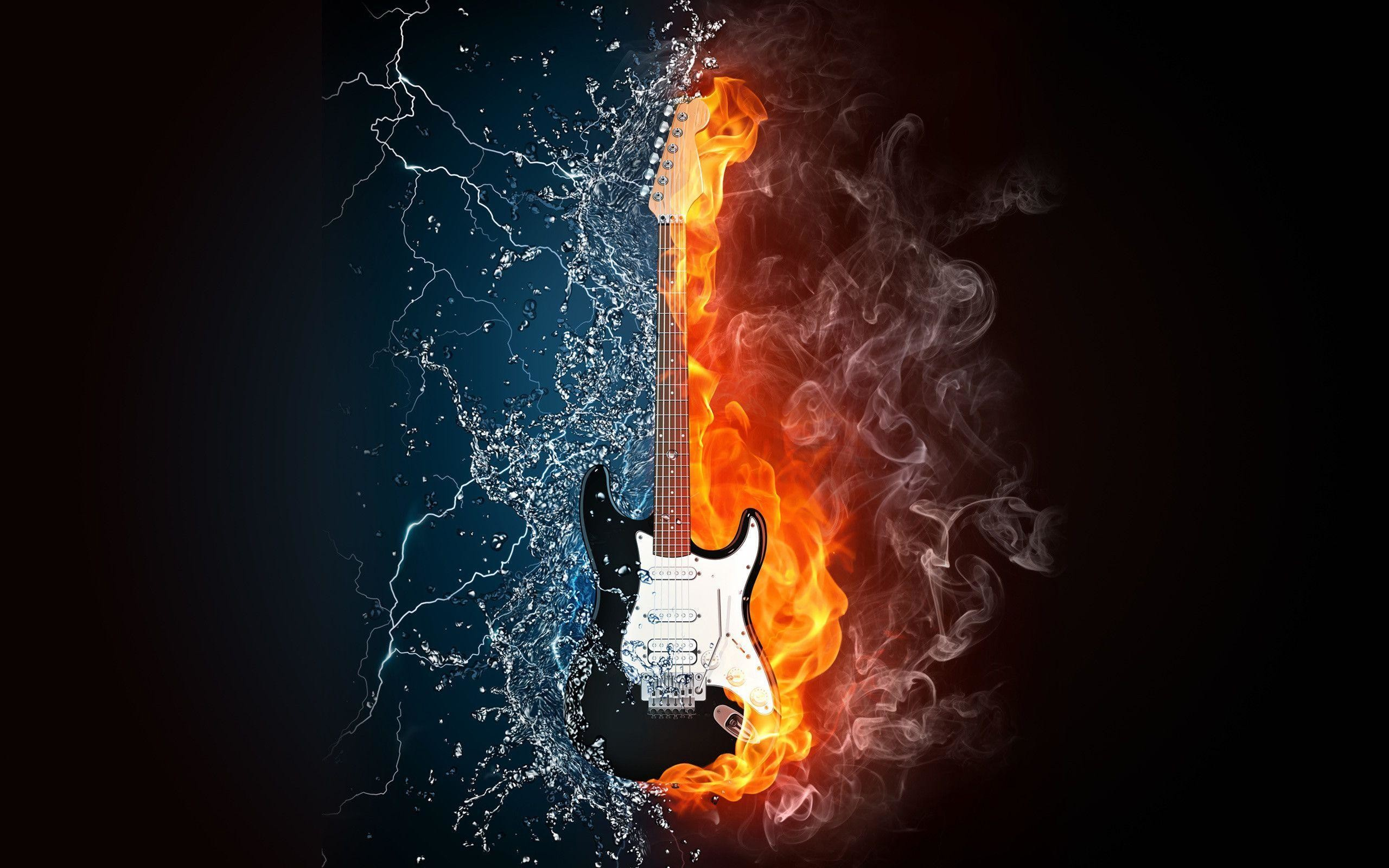 2560x1600 Images For > Awesome Guitar Wallpapers