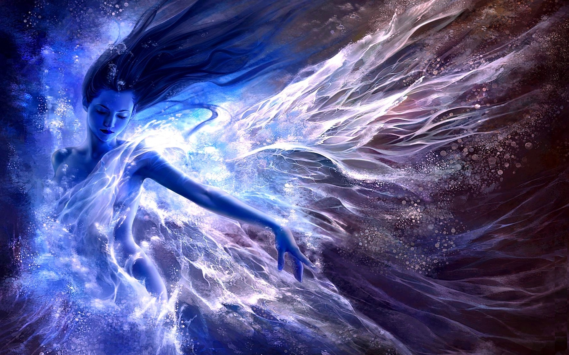 1920x1200 Blue fairy HD Wallpaper 1920x1080 Blue fairy HD Wallpaper