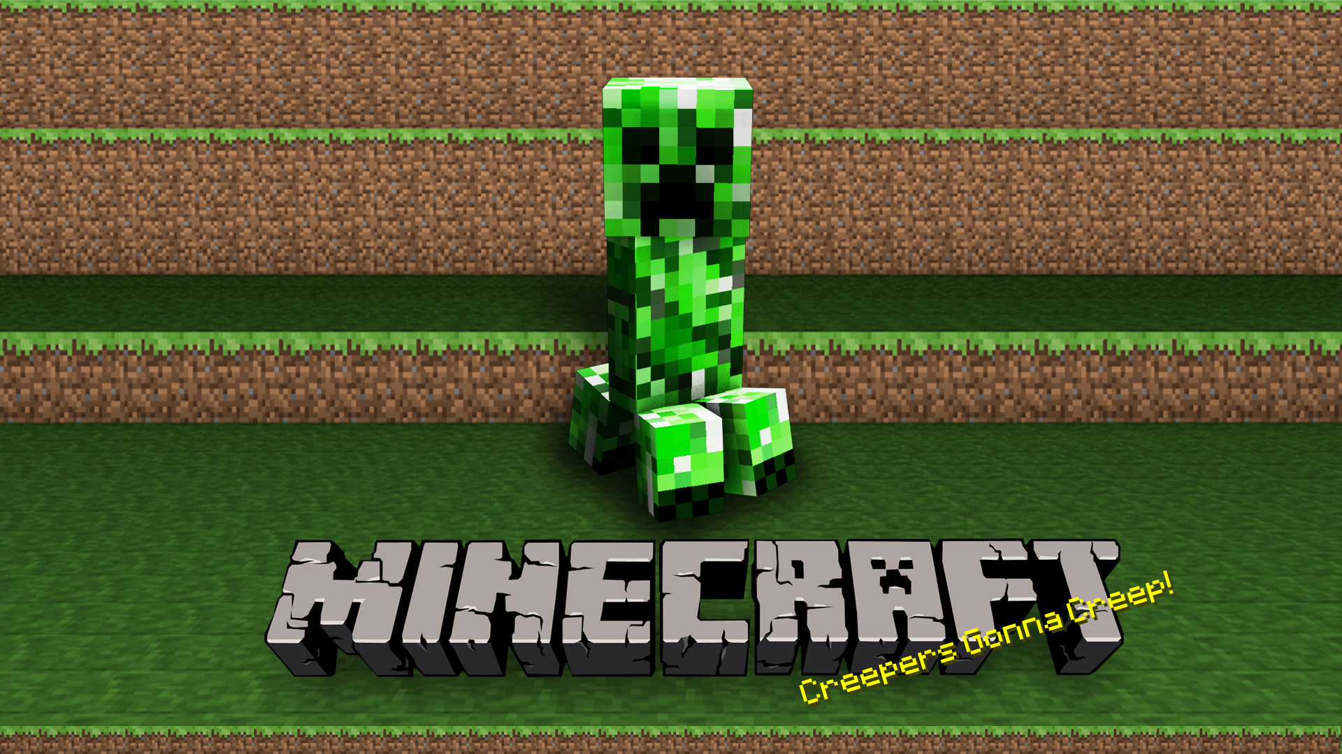 1920x1080 Creeper Green Minecraft Video Game · HD Wallpaper | Background ID:355348