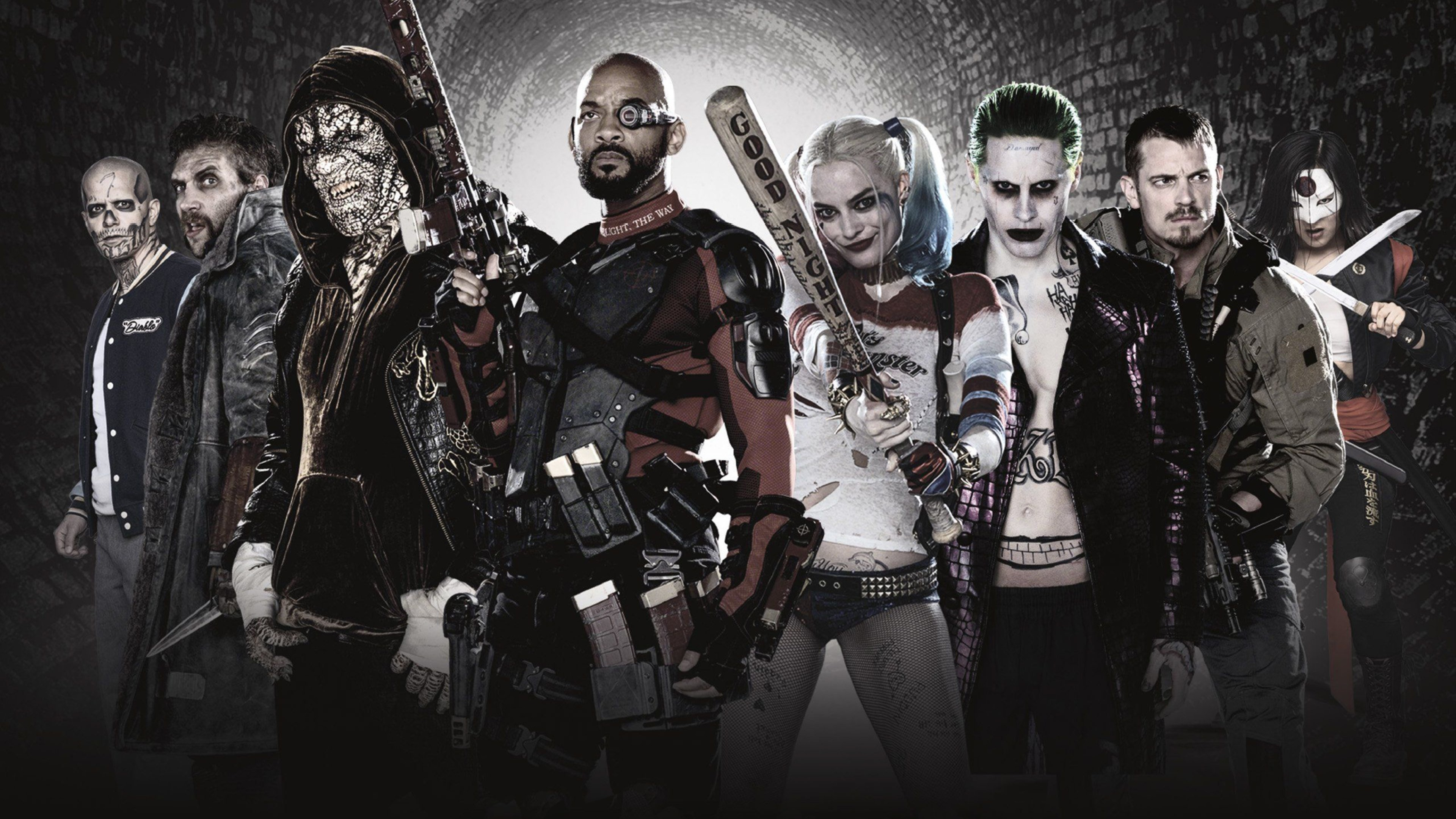 3840x2160 Suicide Squad New Poster Wallpaper | Movies HD Wallpapers - Visit to grab  an amazing super