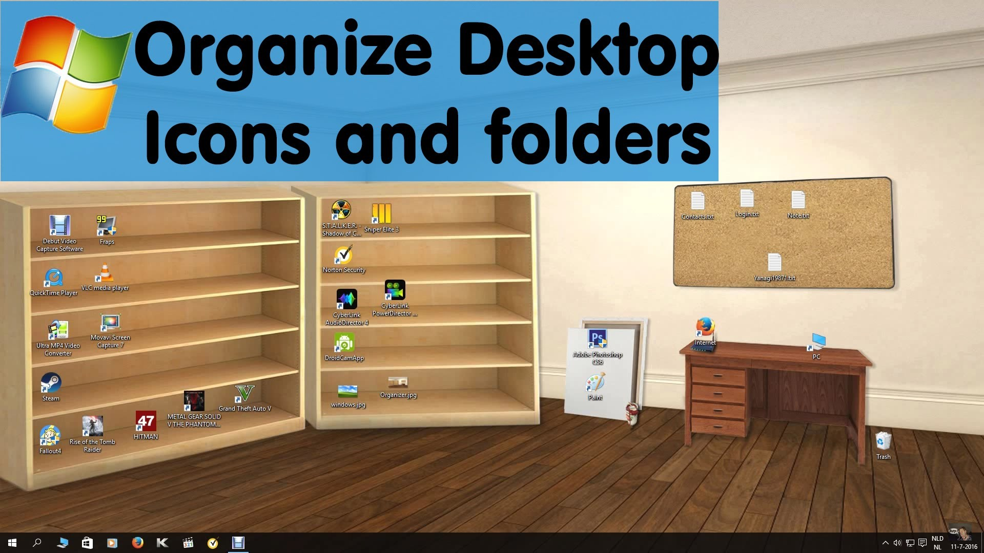Organize Desktop Wallpaper 71 Images