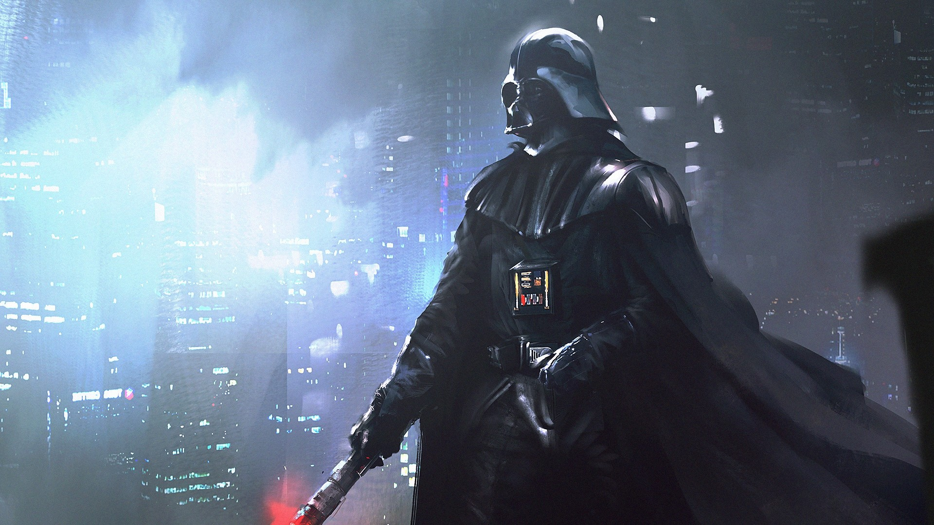 1920x1080  Wallpaper star wars, darth vader, anakin skywalker