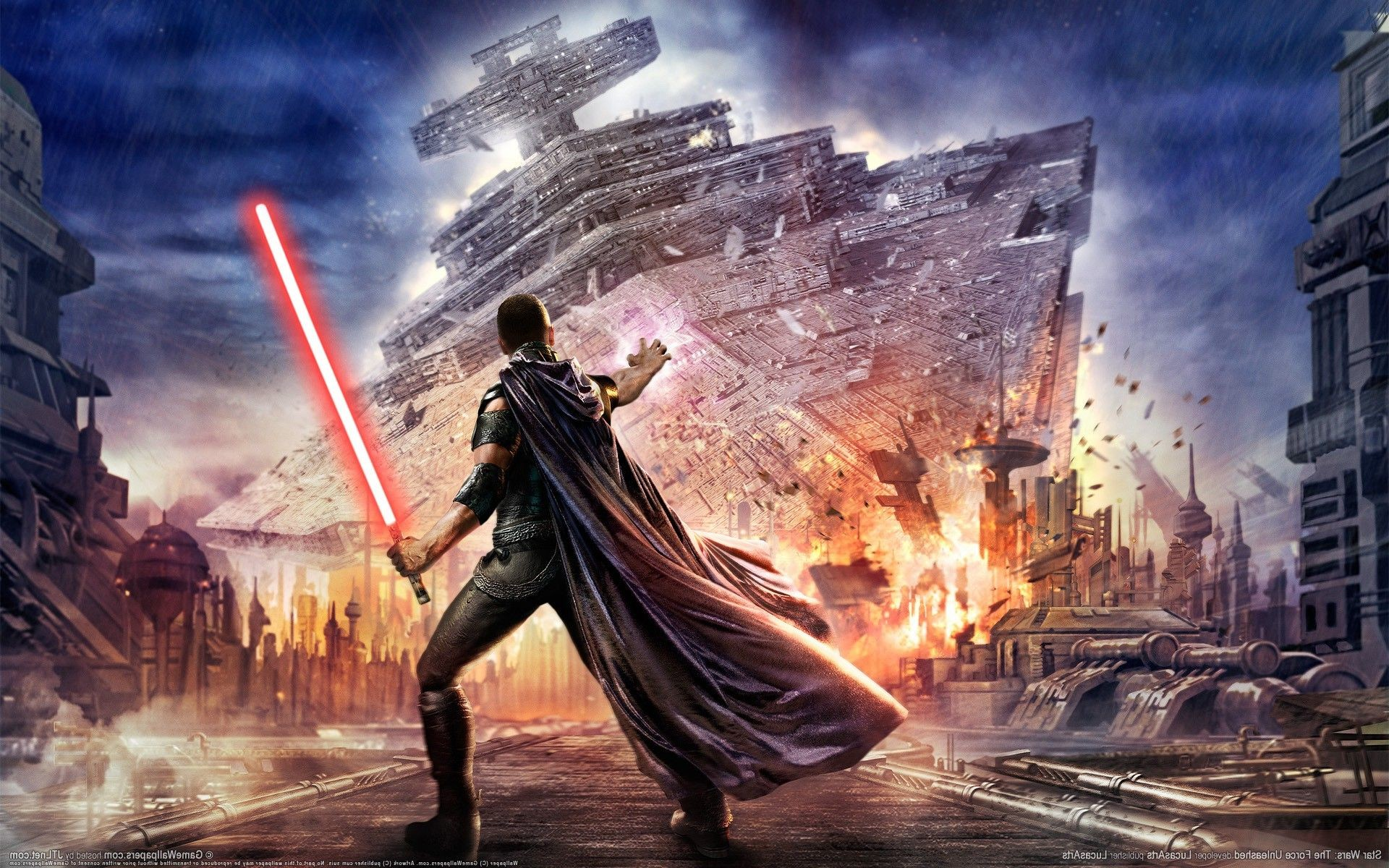 1920x1200 video Games, Star Wars, Star Wars: The Force Unleashed, ...