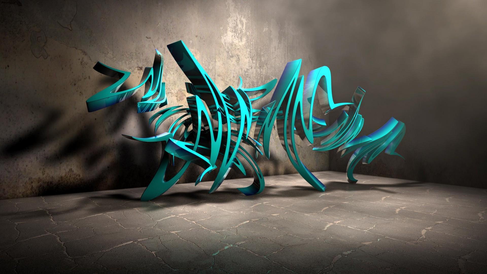 3D Graffiti Wallpapers (76+ images)