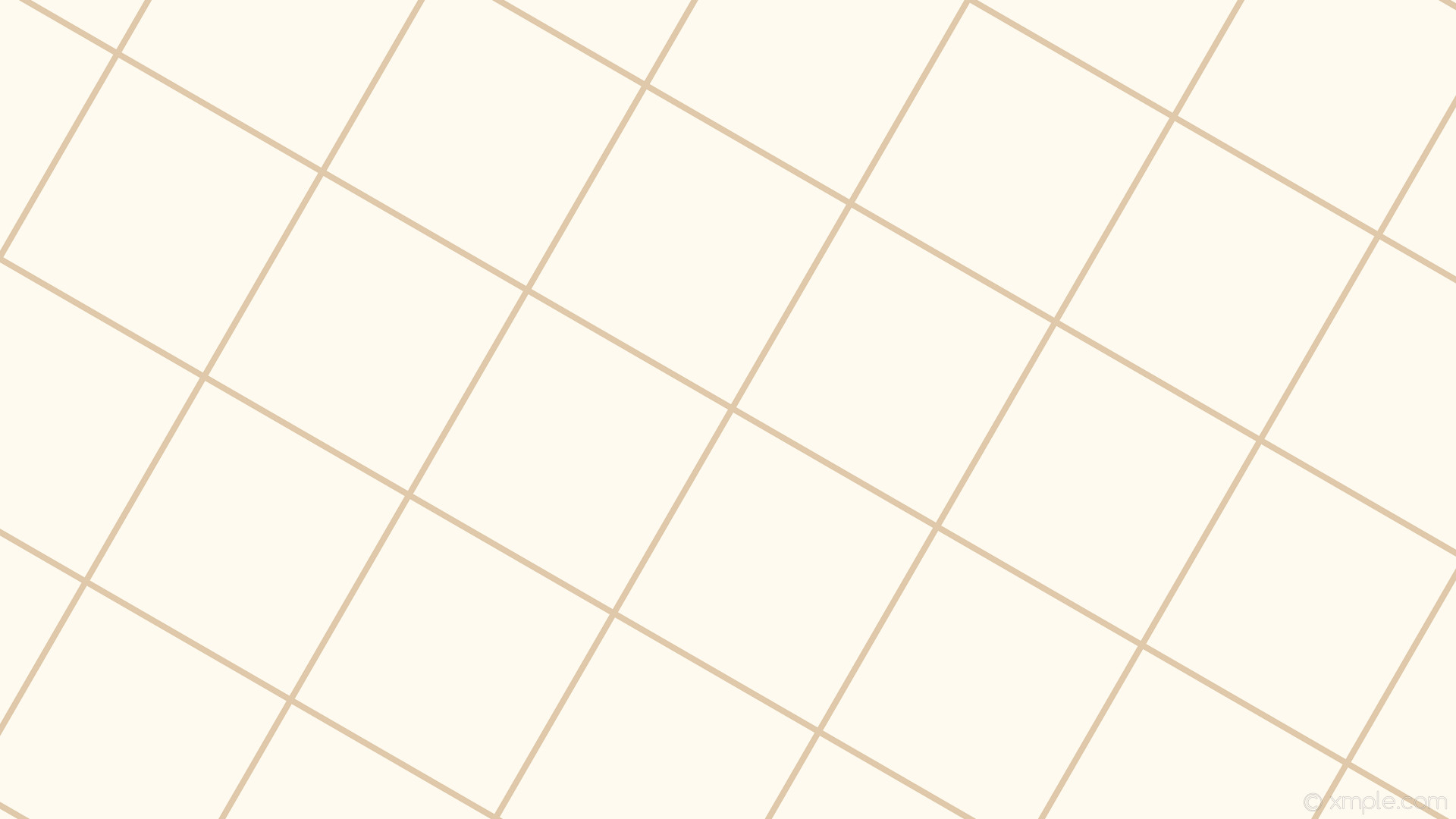 1920x1080 wallpaper brown graph paper white grid floral white tan #fffaf0 #d2b48c 60°  8px