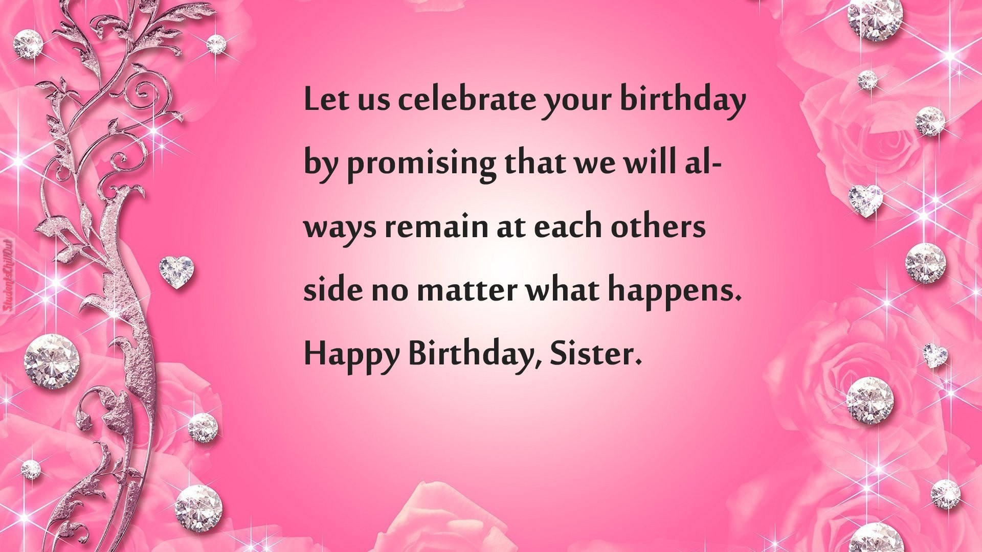 1920x1080 best birthday wishes for a sister