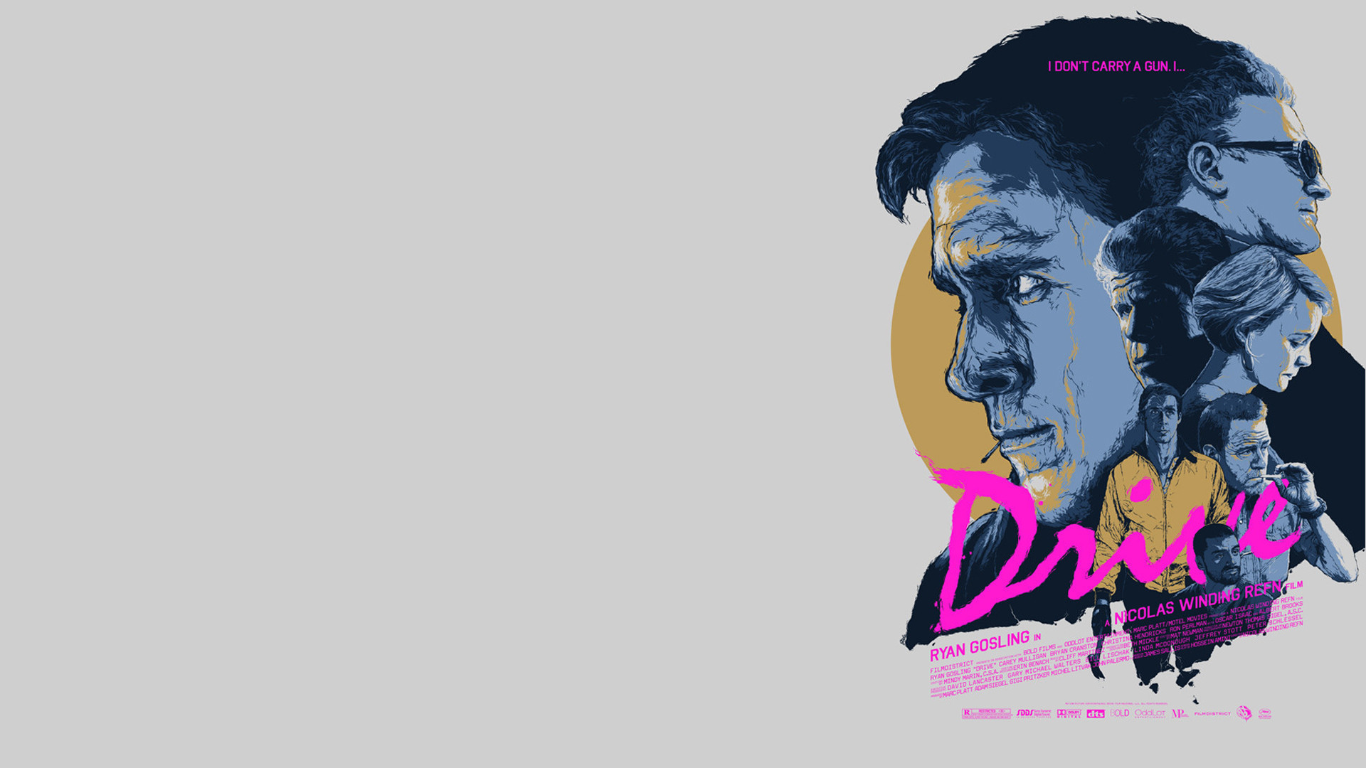 Drive movie wallpaper 71 images 1920x1080 i wallpapered a drive poster for yall 1080p voltagebd Images