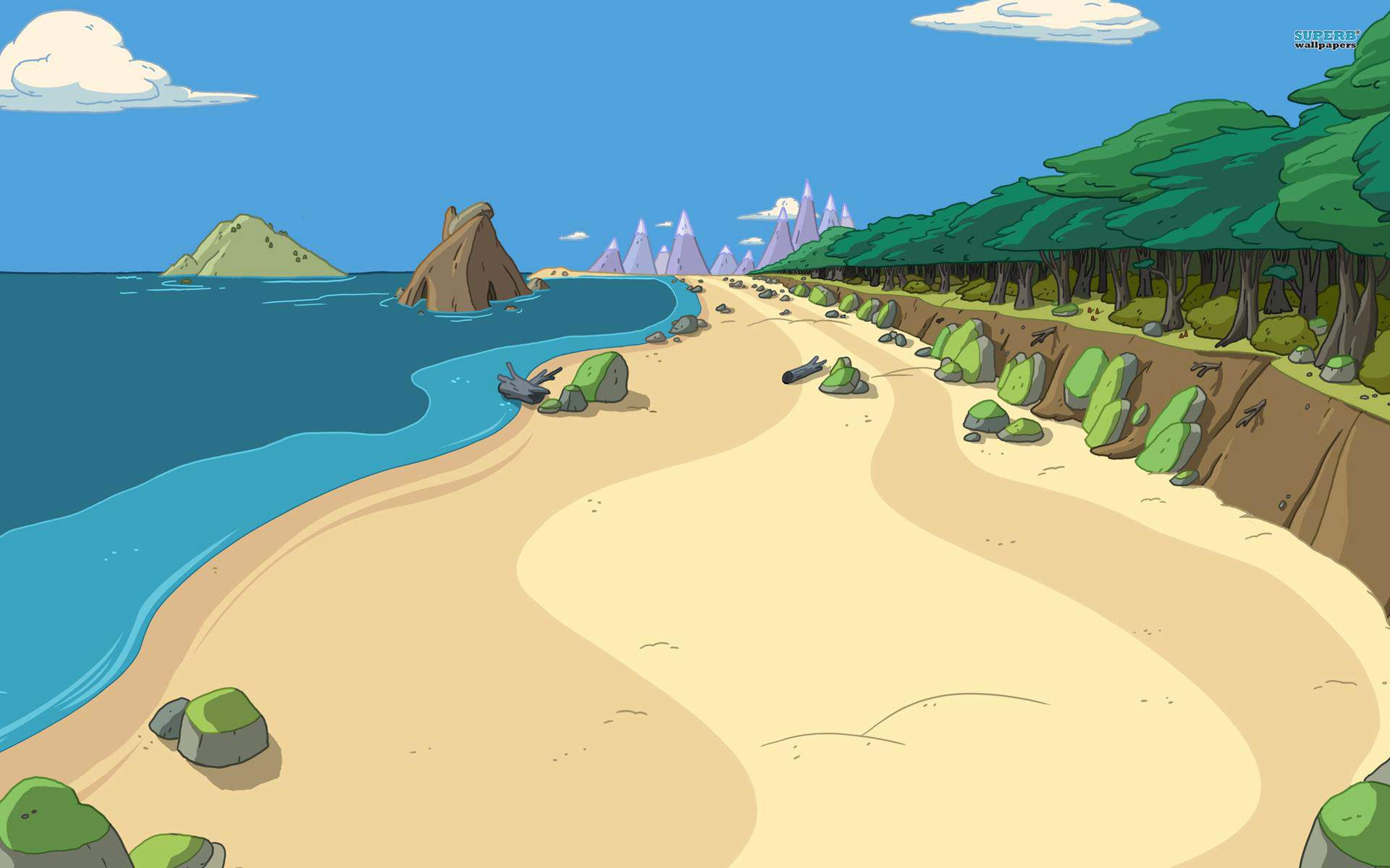 1920x1080 free desktop backgrounds for adventure time
