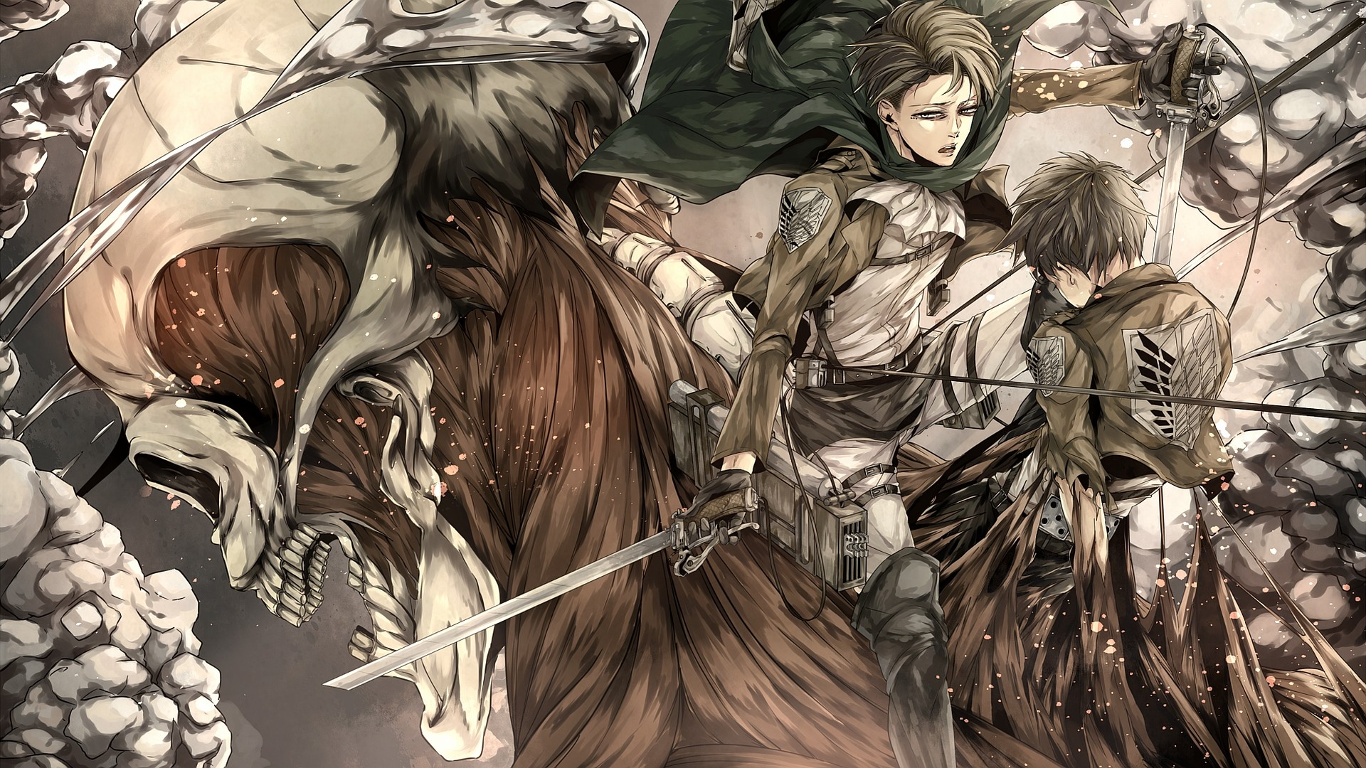 attack on titan live wallpaper 76 images