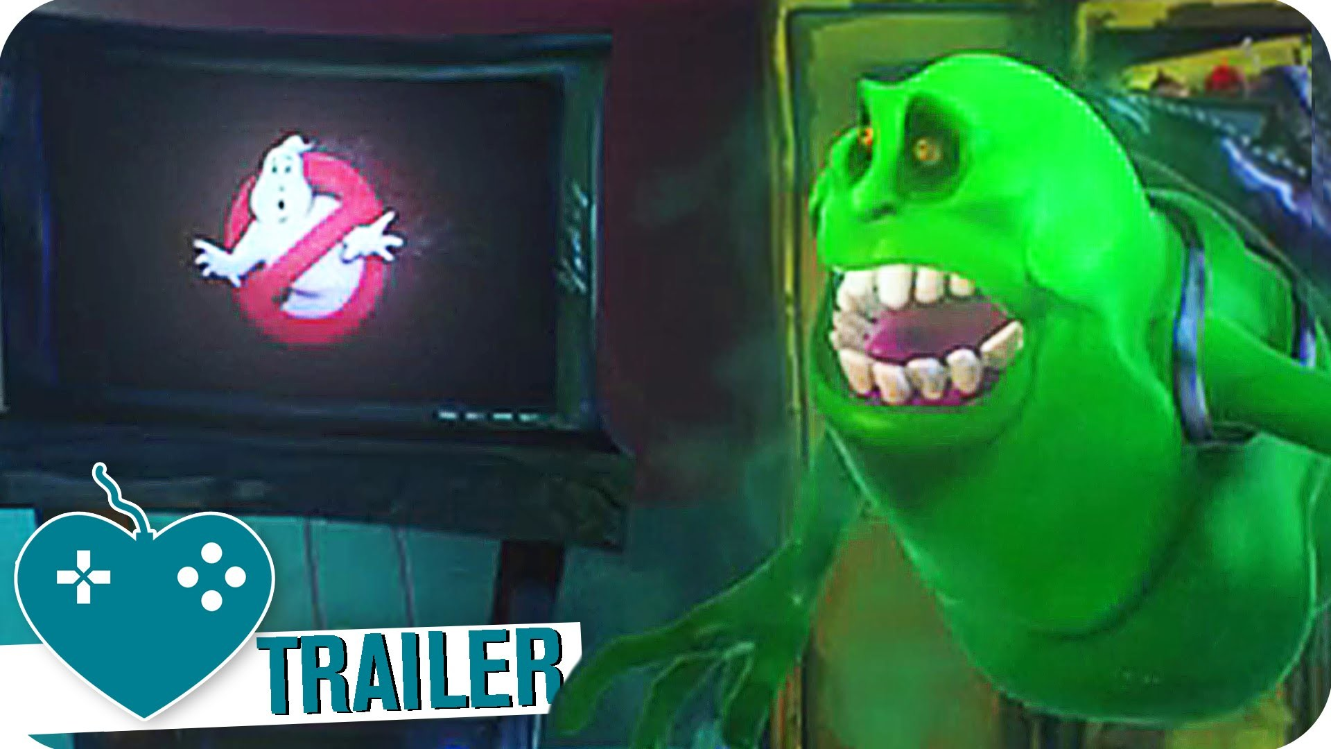 1920x1080 GHOSTBUSTERS Teaser Trailer (2016) PS4, Xbox One, PC