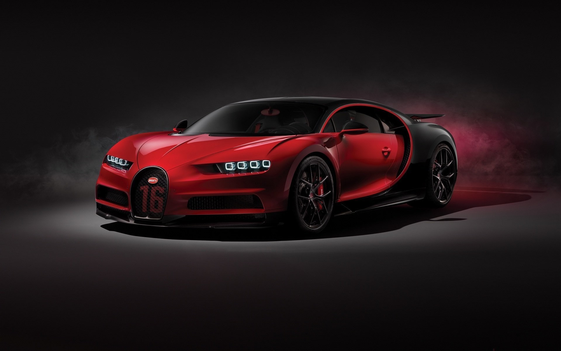 1920x1200 Bugatti Chiron red black concept beautiful car wallpaper