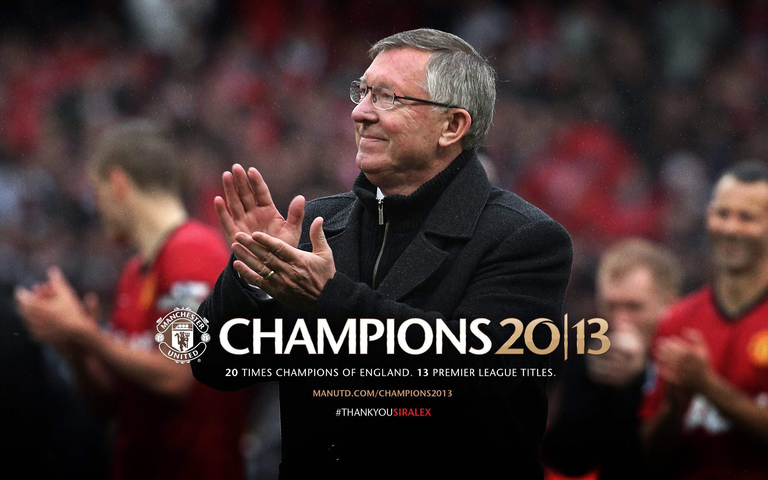 2560x1600 EXCLUSIVE WALLPAPER : SIR ALEX FERGUSON