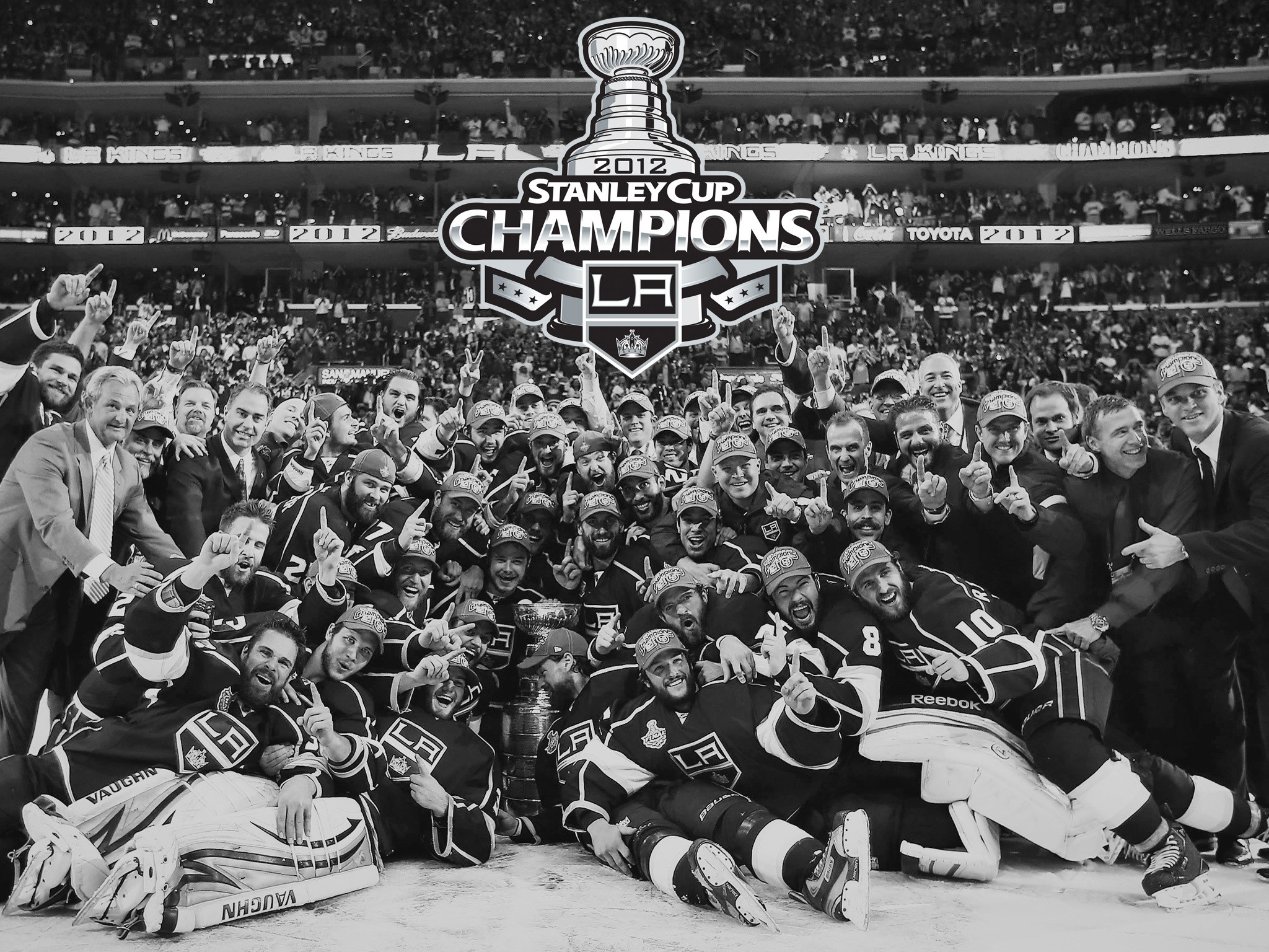 2048x1536 LA Kings Wallpaper for your iPad