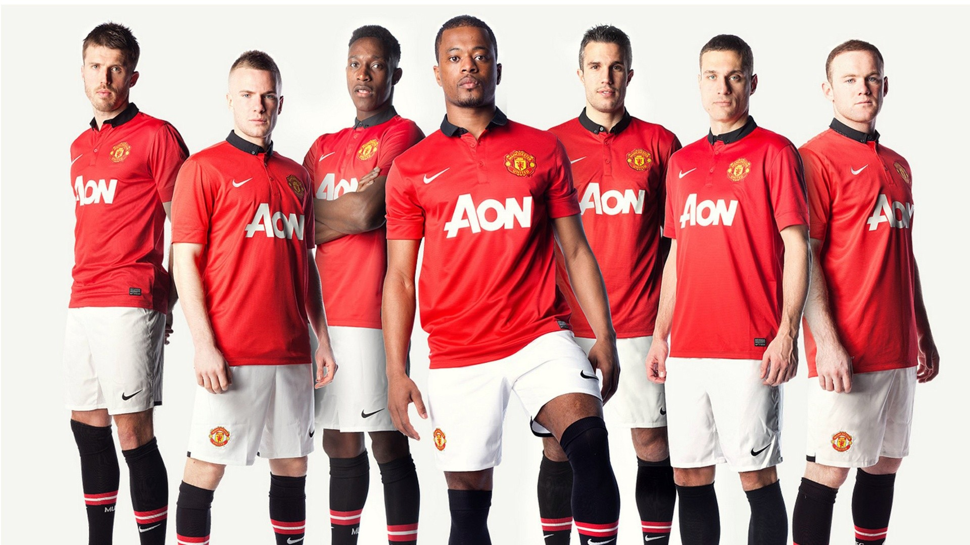 1920x1080 Manchester United Team 2013 Wallpapers