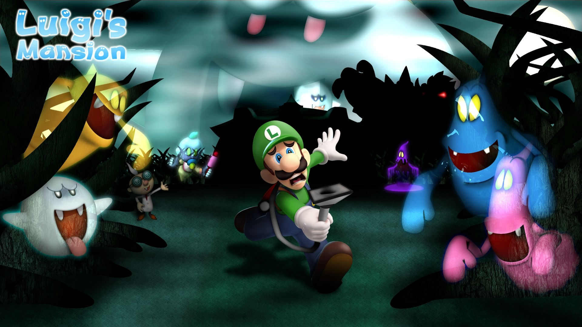 1920x1080 free screensaver wallpapers for luigis mansion, Hopkins Sinclair 2017-03-22