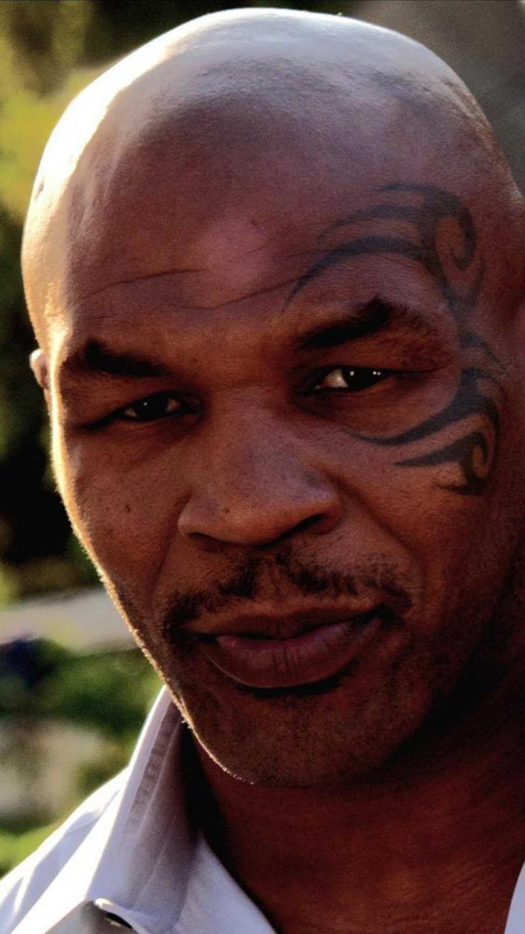 1080x1920 Preview wallpaper boxer, mike tyson, tattoo