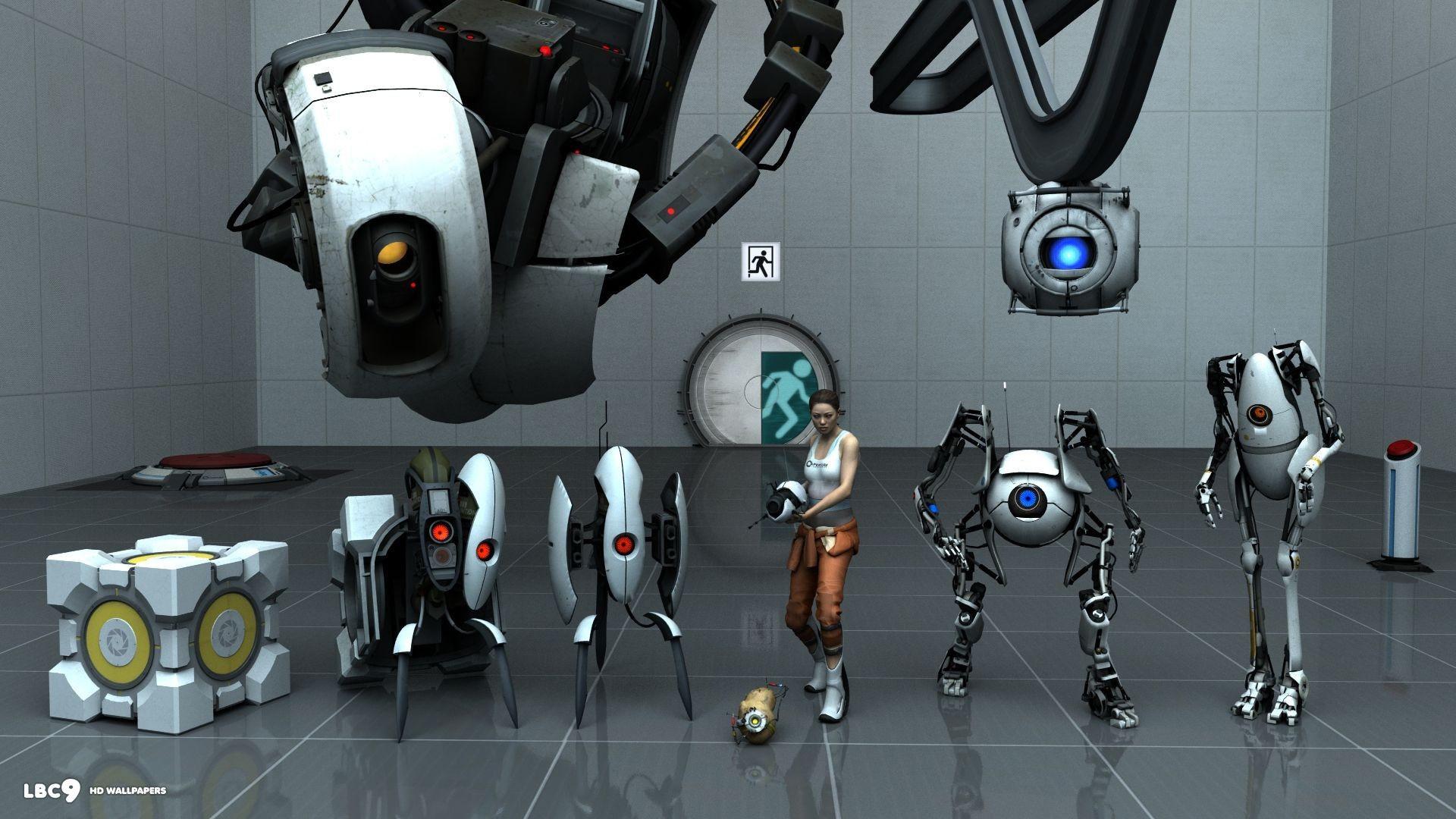 Portal 2 Glados Wallpaper 81 Images