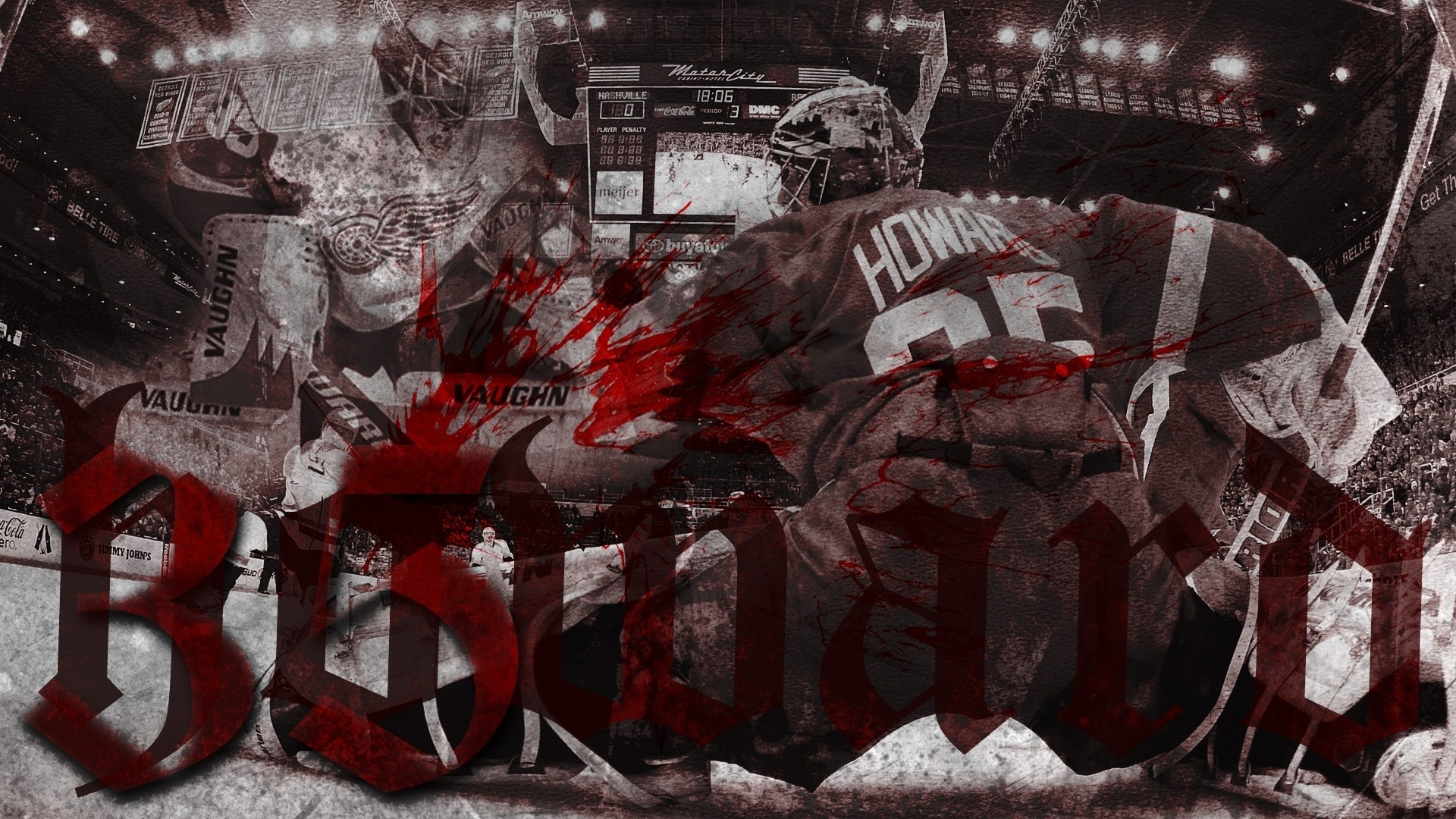 1920x1080 Hockey detroit red wings goalie jimmy howard g wallpaper |  |  128683 | WallpaperUP