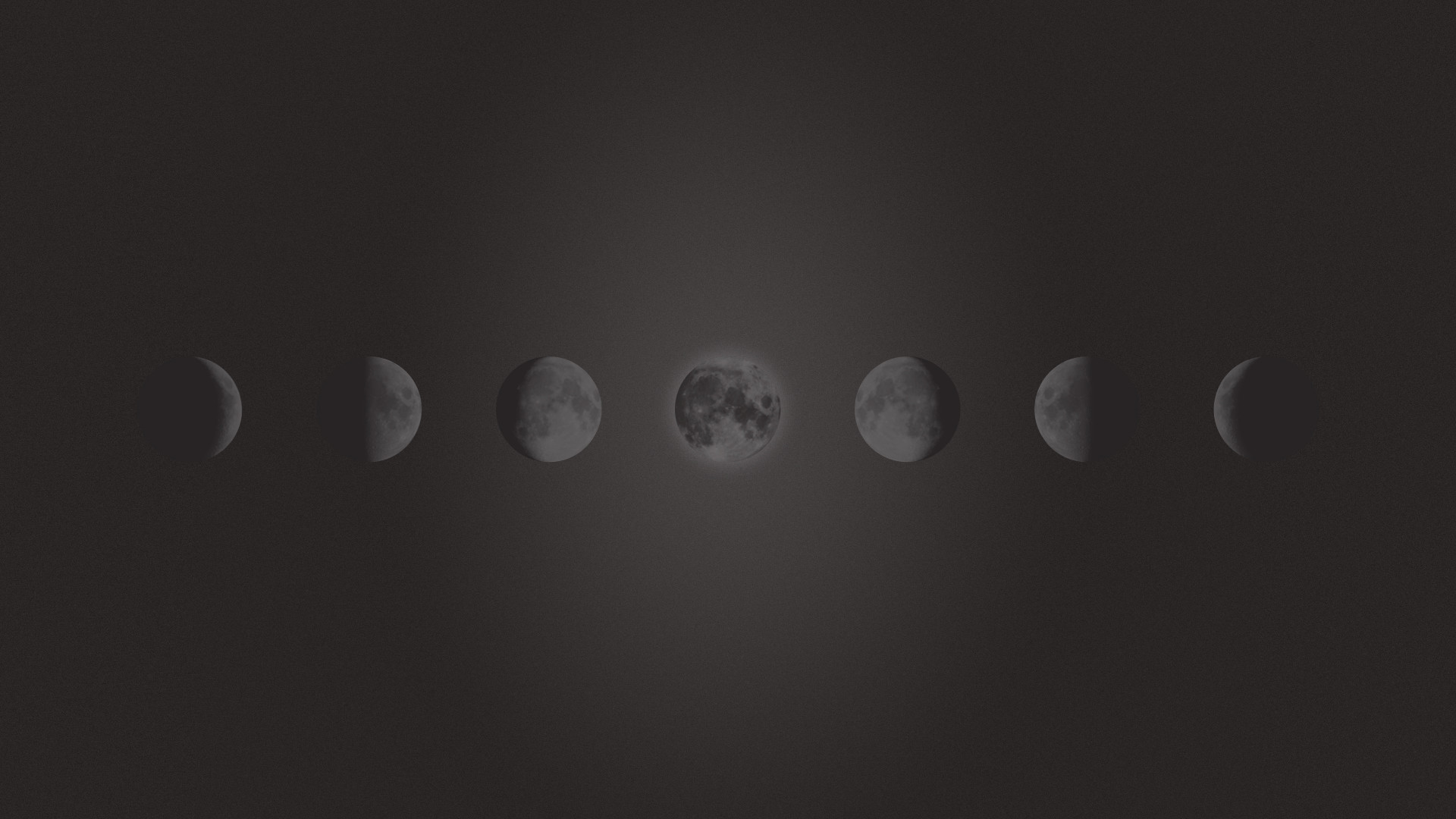1920x1080 Freebie – Phases Of The Moon Wallpaper