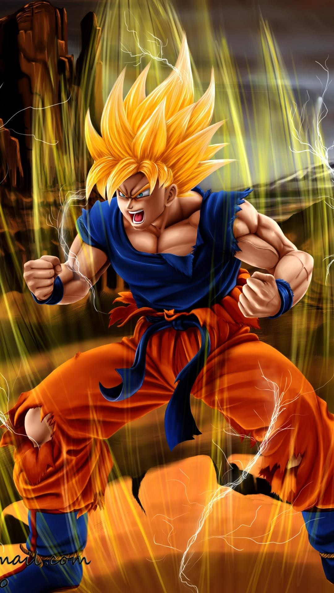 Dragon ball z phone wallpaper 65 images - 3d wallpaper of dragon ball z ...