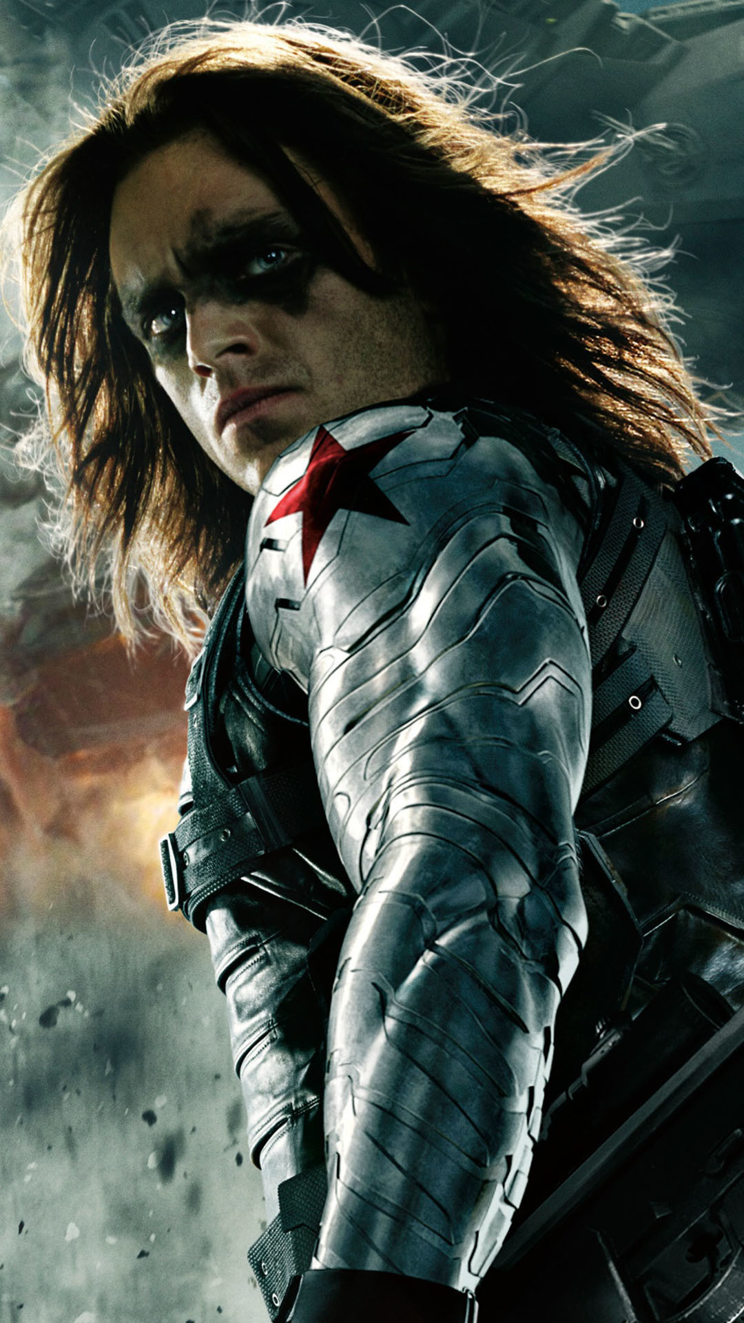 1080x1920 The Winter Soldier Android Wallpaper ...
