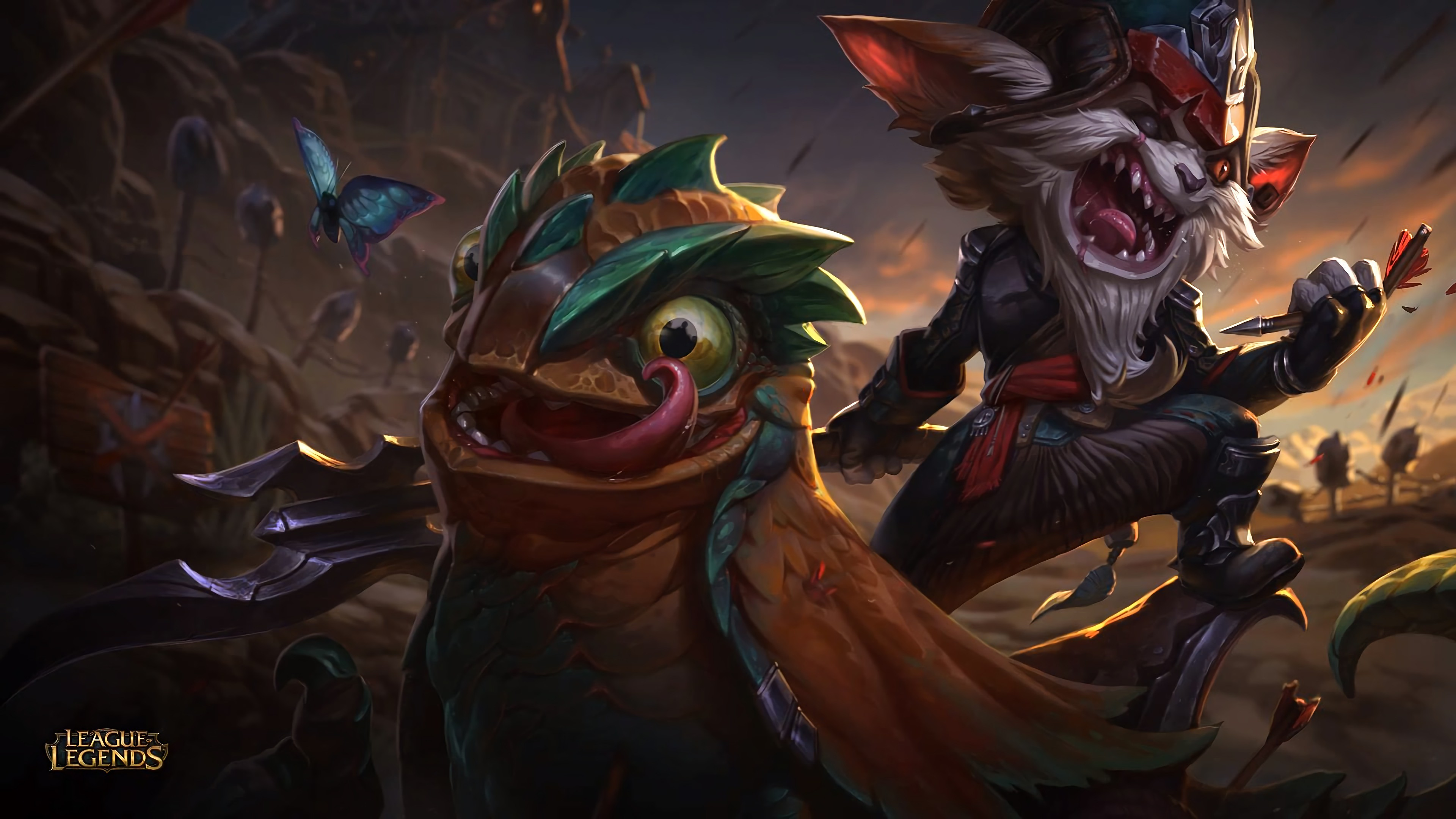 3840x2160 Video Game - League Of Legends Video Game Kled (League Of Legends) Wallpaper