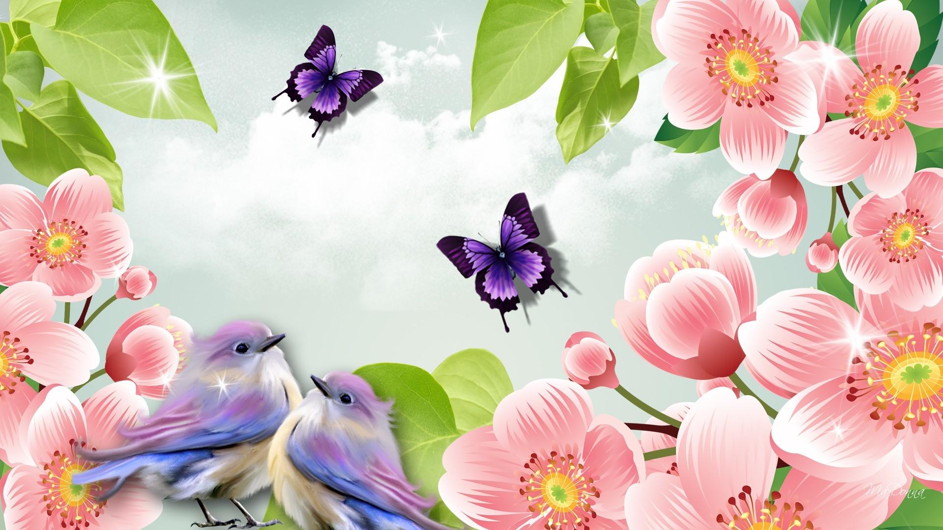 1920x1080 2577 Spring Landscape Nature Wallpaper