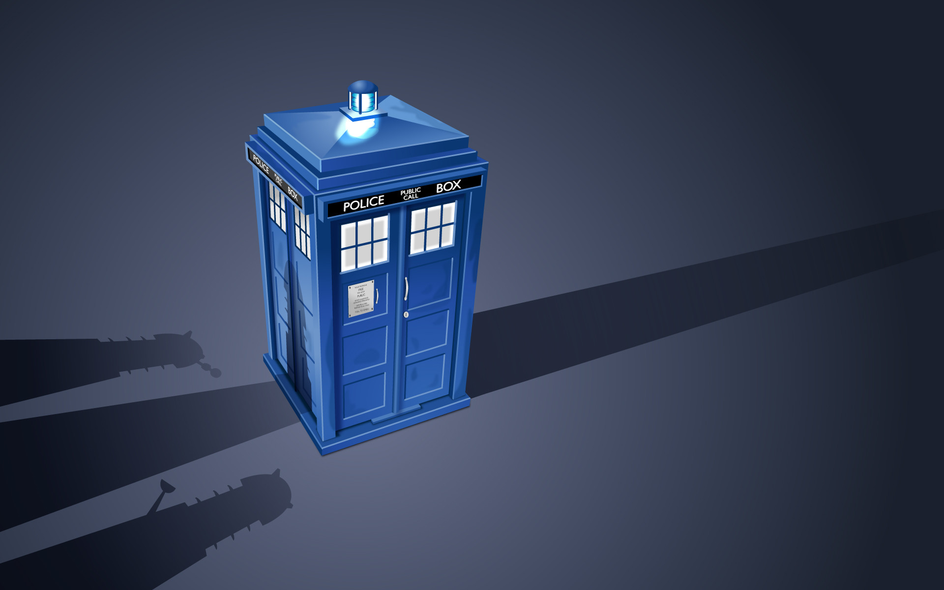 1920x1200 wallpaper TARDIS · Doctor Who · Daleks