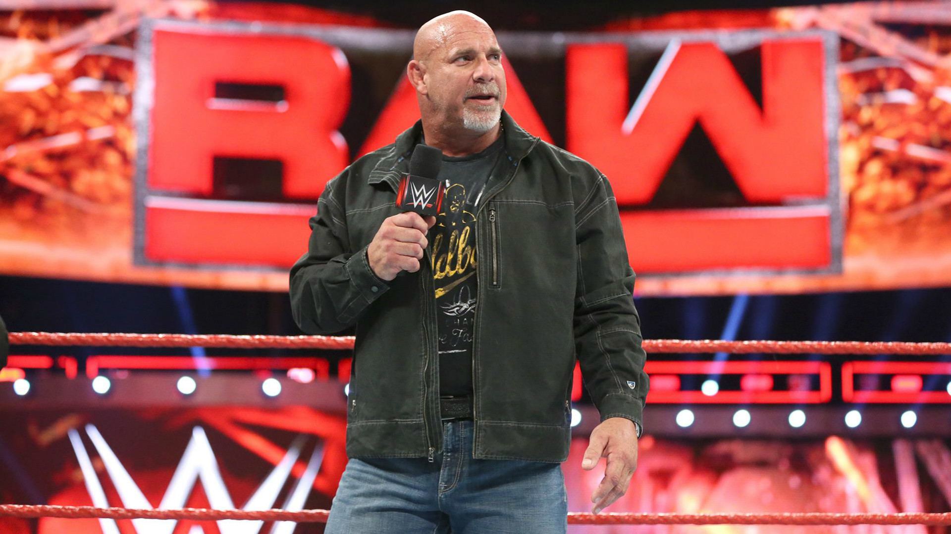 1920x1080 Having conquered The Conqueror, Brock Lesnar, at Survivor Series, Goldberg  has announced that