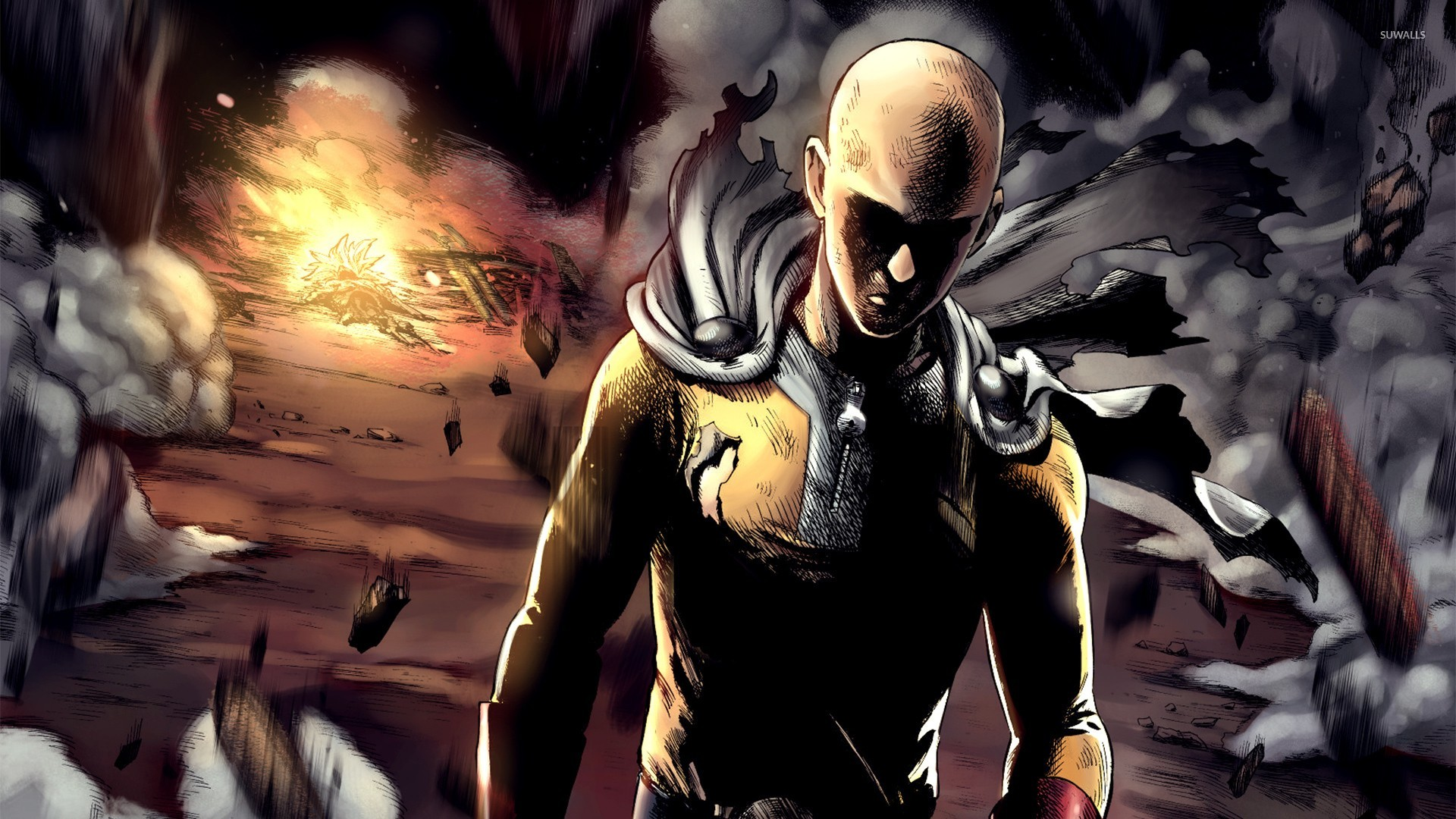 One punch man wallpaper hd 68 images - Funny one punch man wallpaper ...