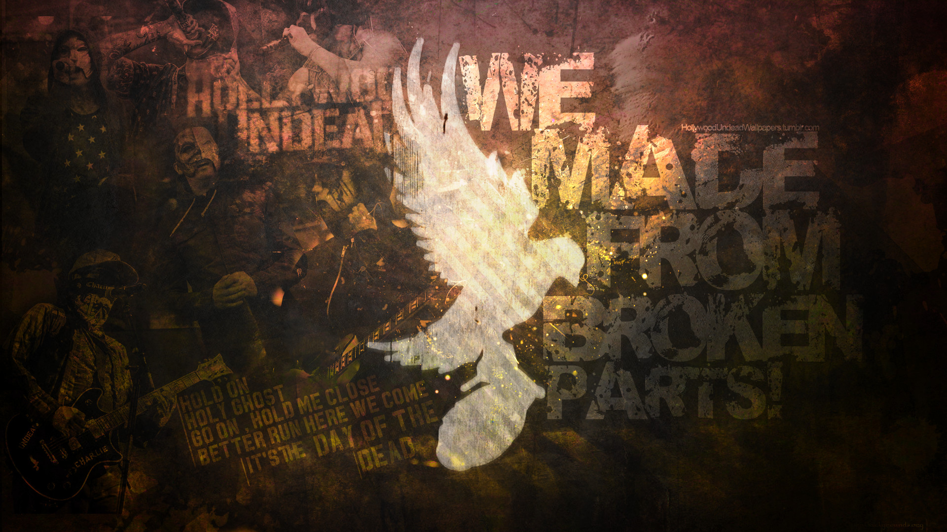 1920x1080 Hollywood Undead - Dove and Grenade Wallpaper by emirulug on .