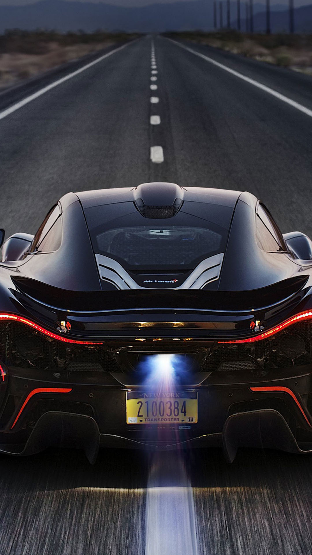 1080x1920 McLaren P1 Back Race iPhone 6 Plus HD Wallpaper ...