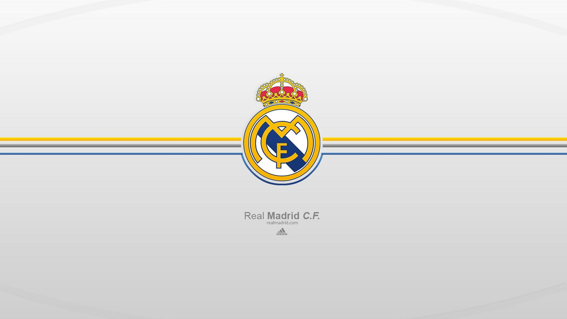1920x1080 Real Madrid Logo Wallpaper HD Widescreen.