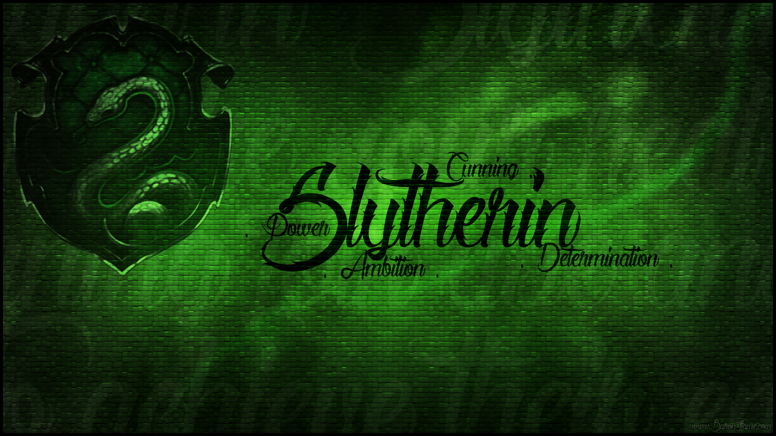 2560x1440 slytherin pride wallpaper by baronflame fan art wallpaper books novels .