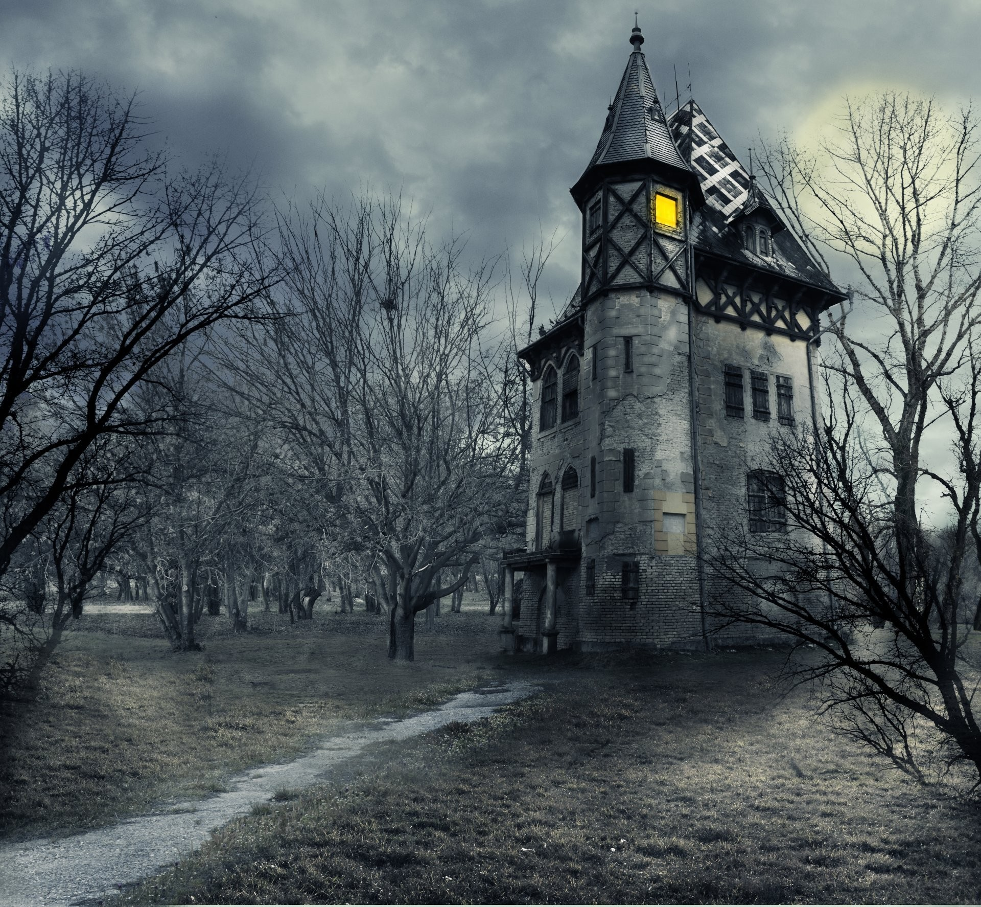 Haunted House Wallpapers (62+ Images