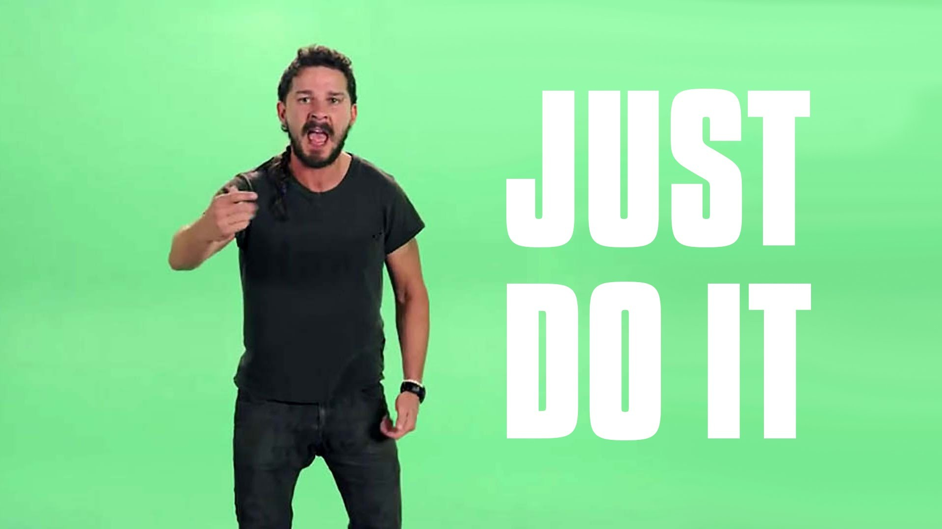 shia labeouf just do it wallpaper 69 images. Black Bedroom Furniture Sets. Home Design Ideas