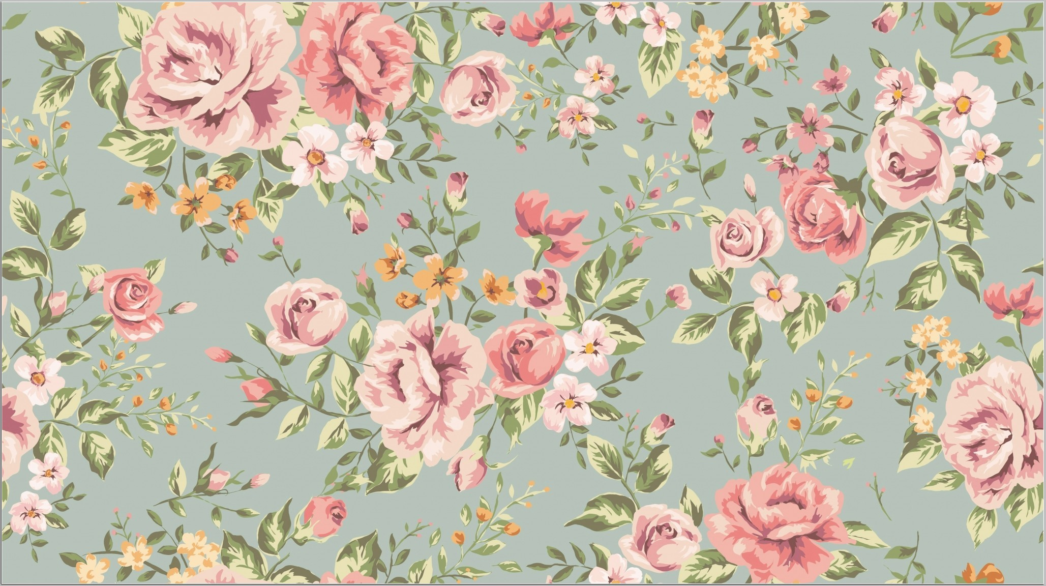 Antique Flower Wallpaper 50 Images